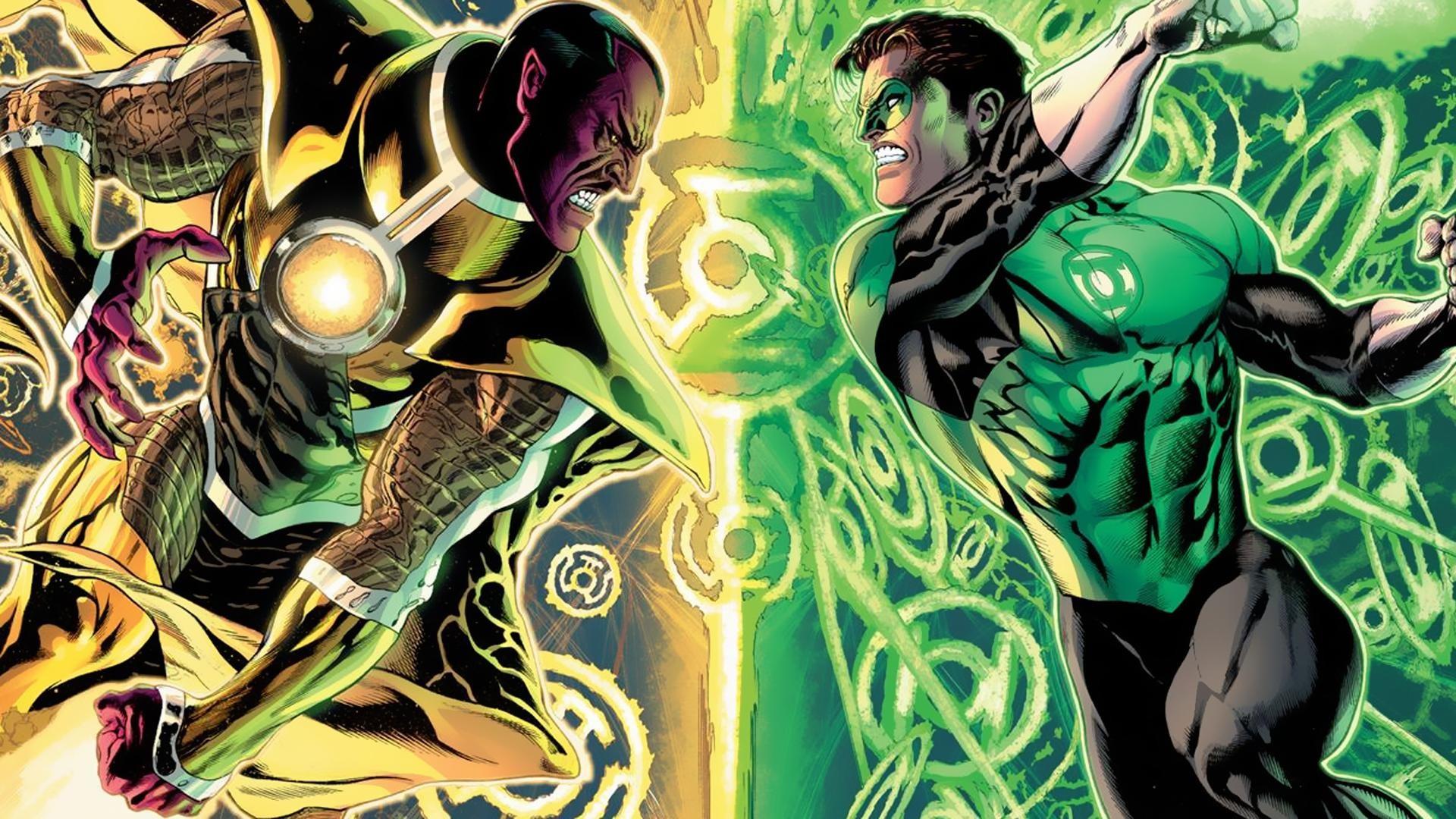 Hal Jordan vs Sinestro [1920×1080] Need #iPhone #6S #Plus #Wallpaper