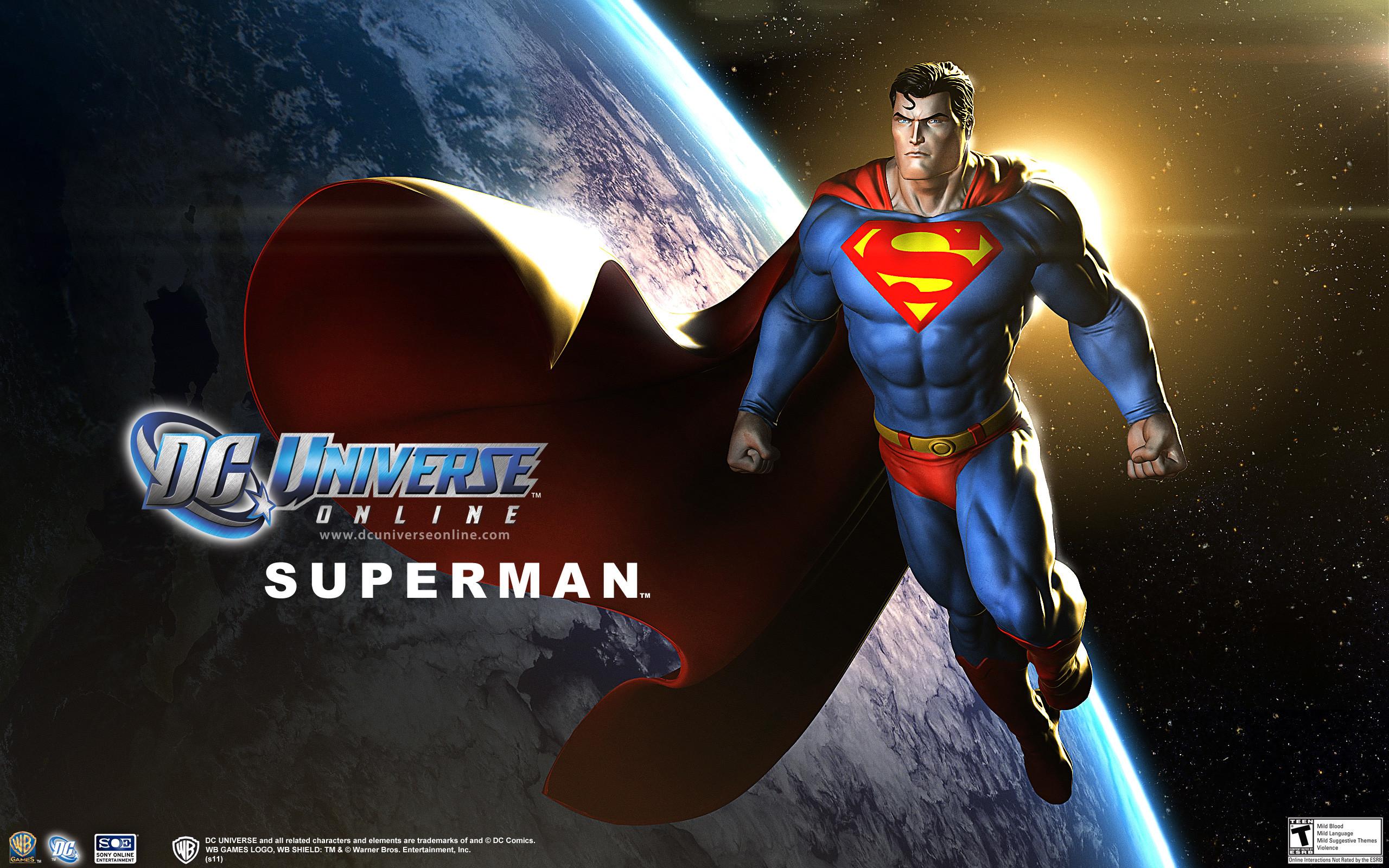 Superman DC Universe Wallpaper
