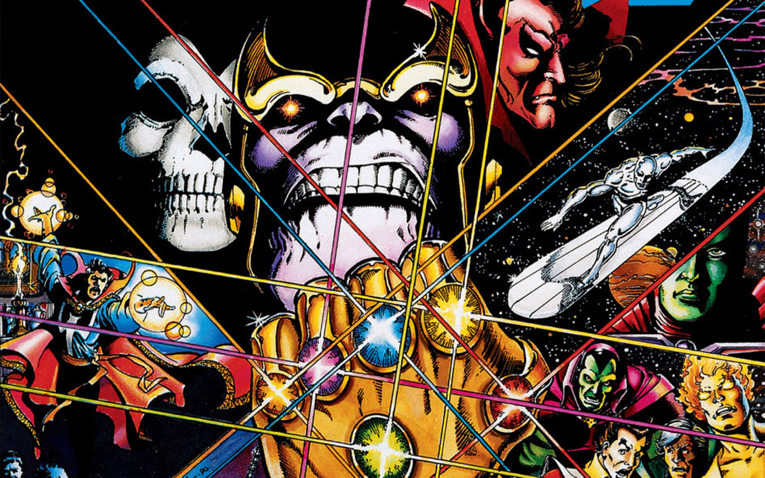 Avengers: Infinity War HD Background