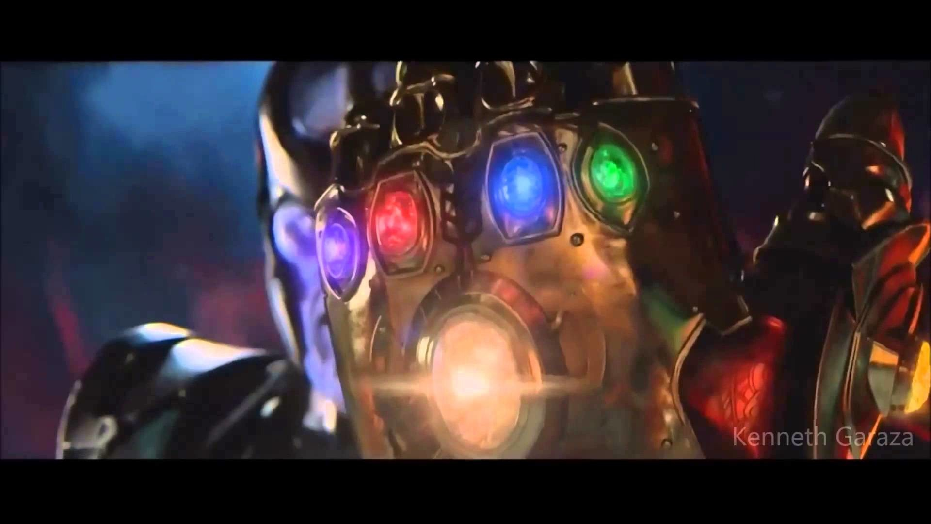 Thanos with the Infinity Gauntlet (MCU)