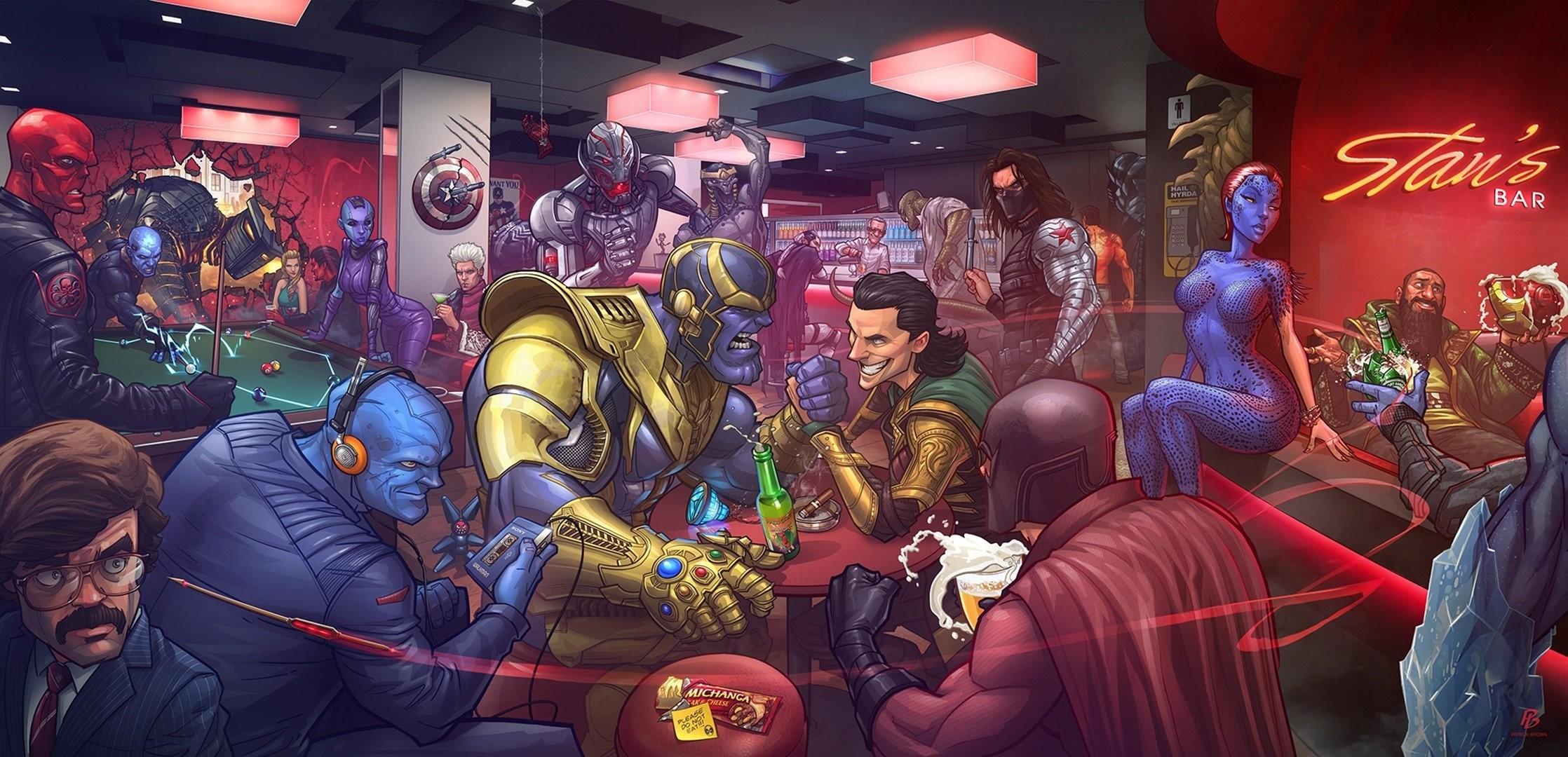 marvel comics winter soldier loki ultron magneto villains mystique x-men  johann shmidt red skull
