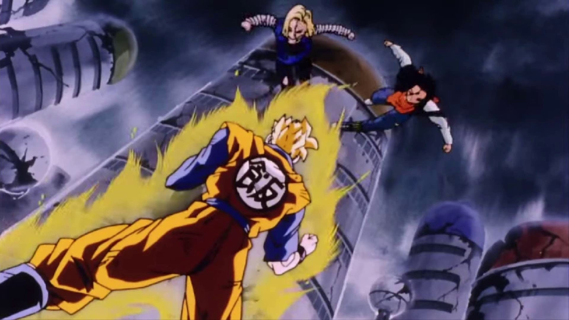 Dragon Ball Z Sagas | Future Gohan vs Androids