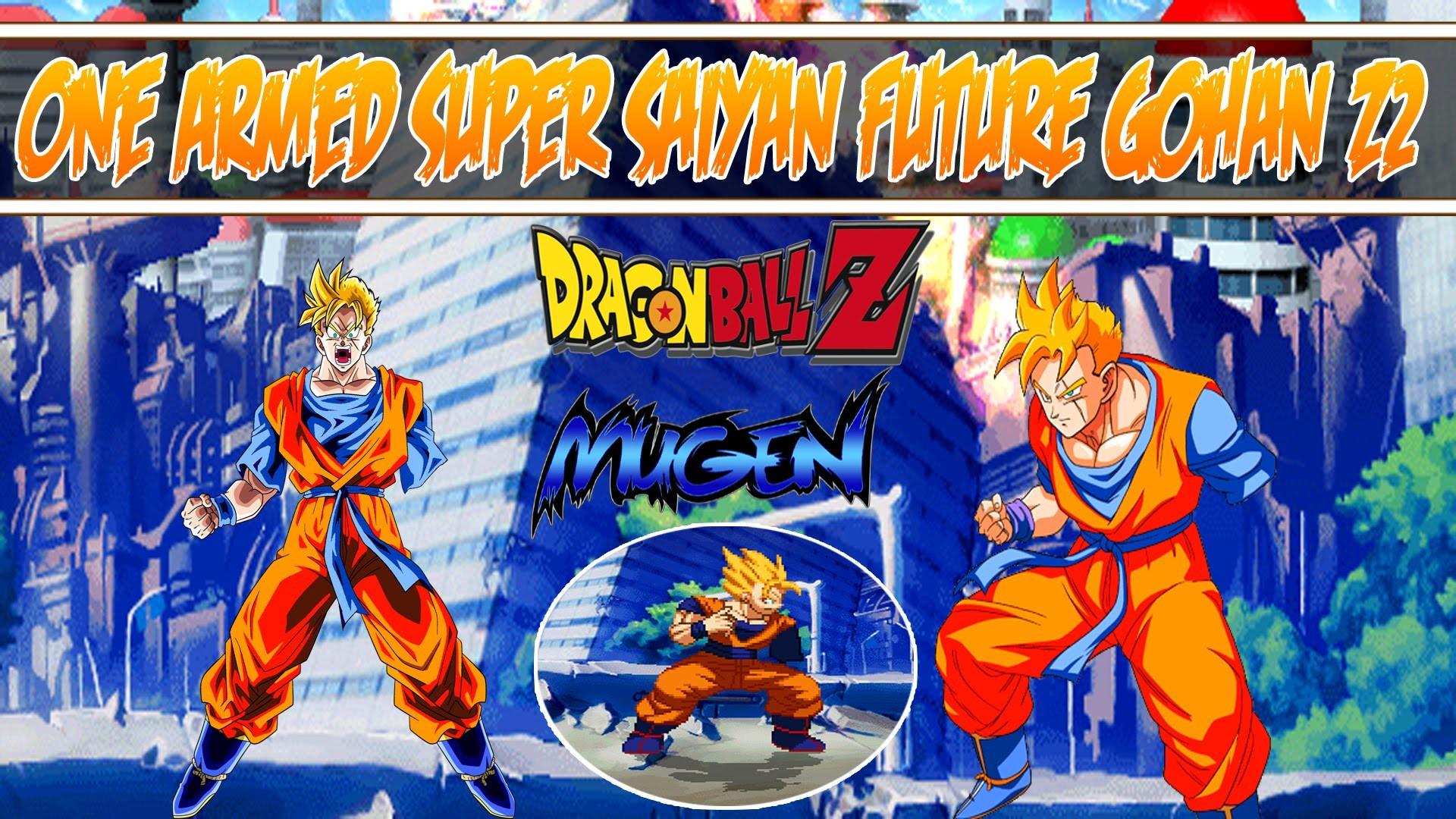 M.U.G.E.N. CHAR | One Armed Super Saiyan Future Gohan Z2 by  CaptainUnprofessional – YouTube