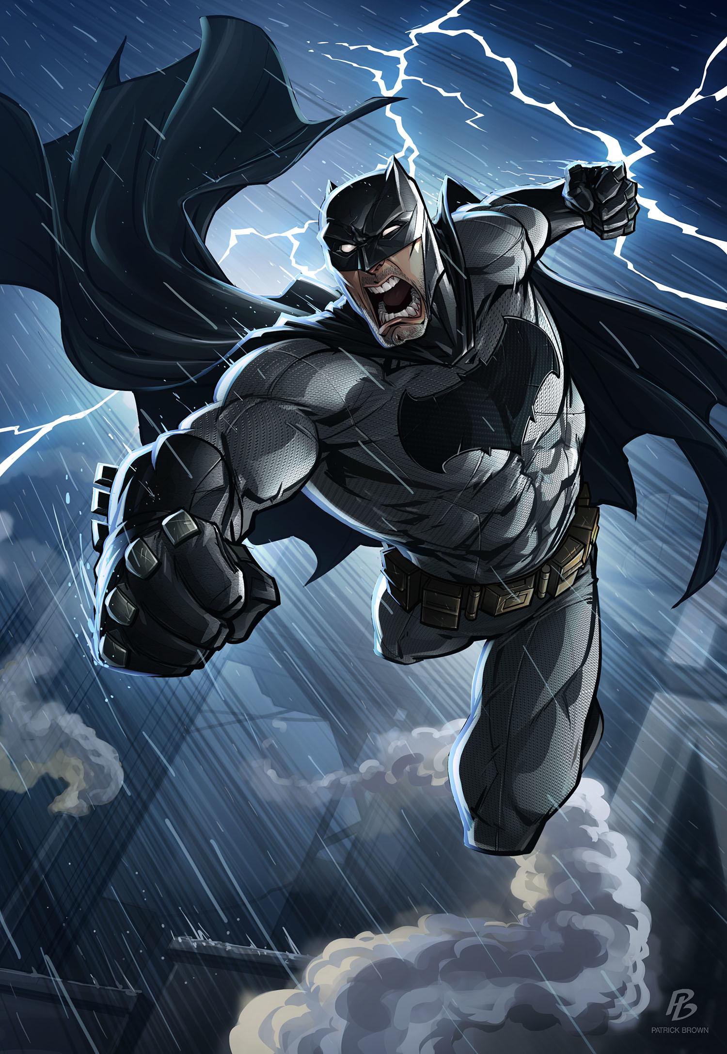 Batman – Patrick Brown Art Jim Lee Batman Wallpaper
