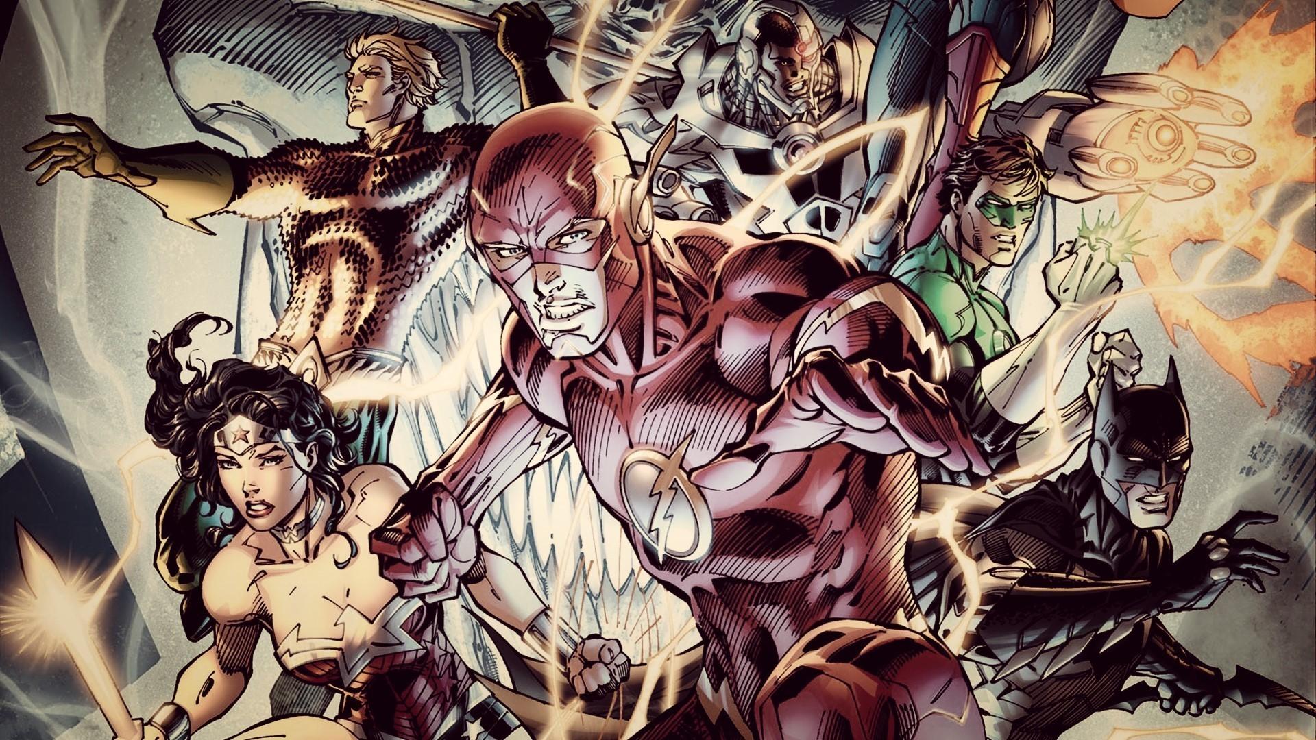 Justice League Dc Comics Jim Lee