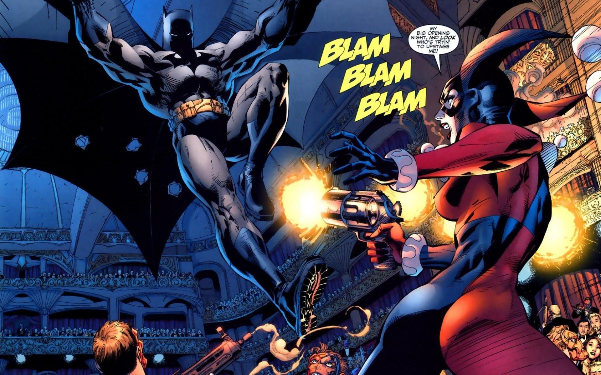 Harley Quinn in Batman: Hush