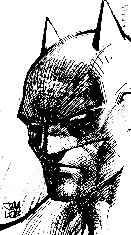 Jim Lee Batman sketches never get old