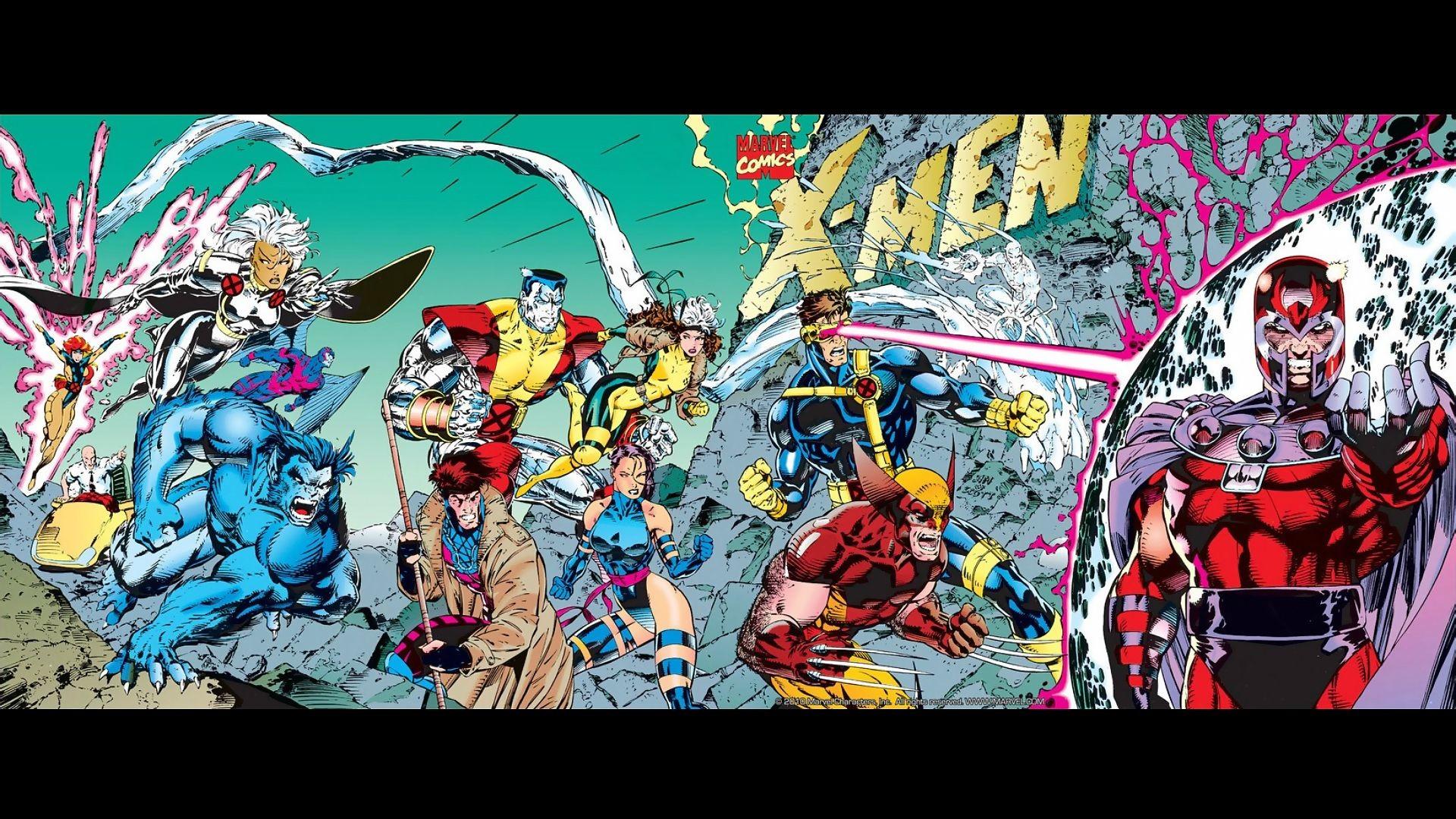 X-Men by Jim Lee [1920×1080] …