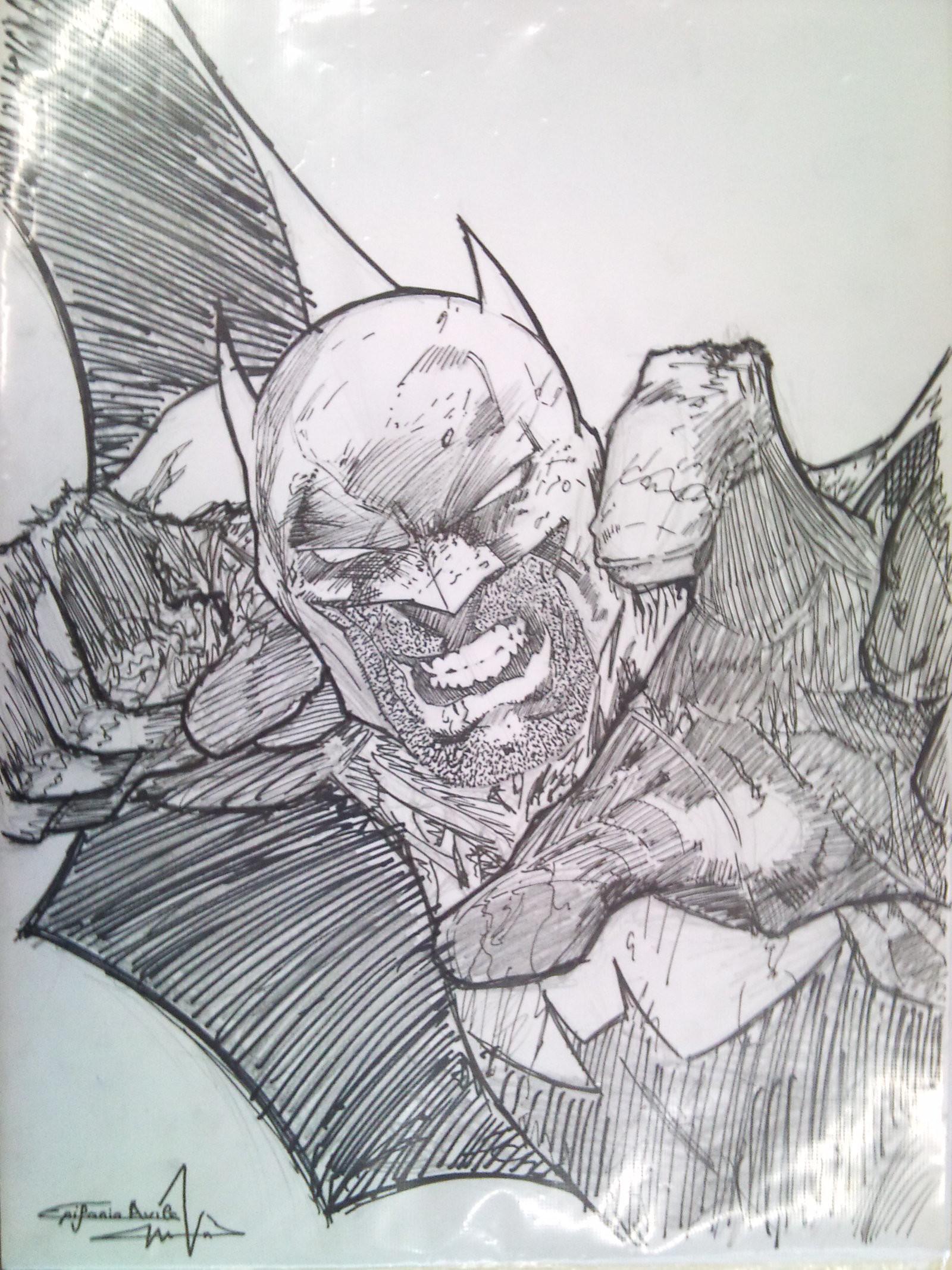 … COVER BATMAN HUSH JIM LEE by naota12