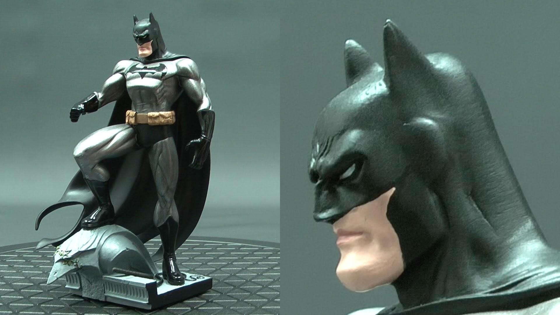 DC Collectibles Batman Mini Statue Design By Jim Lee Review