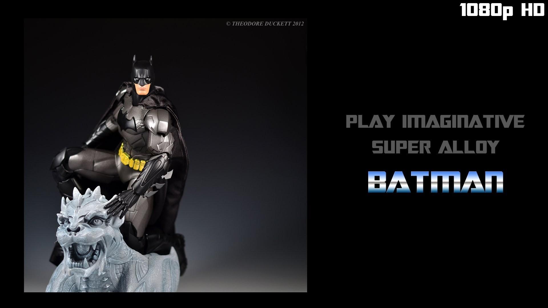 Toy Review: Play Imaginative 1/6th Super Alloy Batman (Jim Lee Edition)