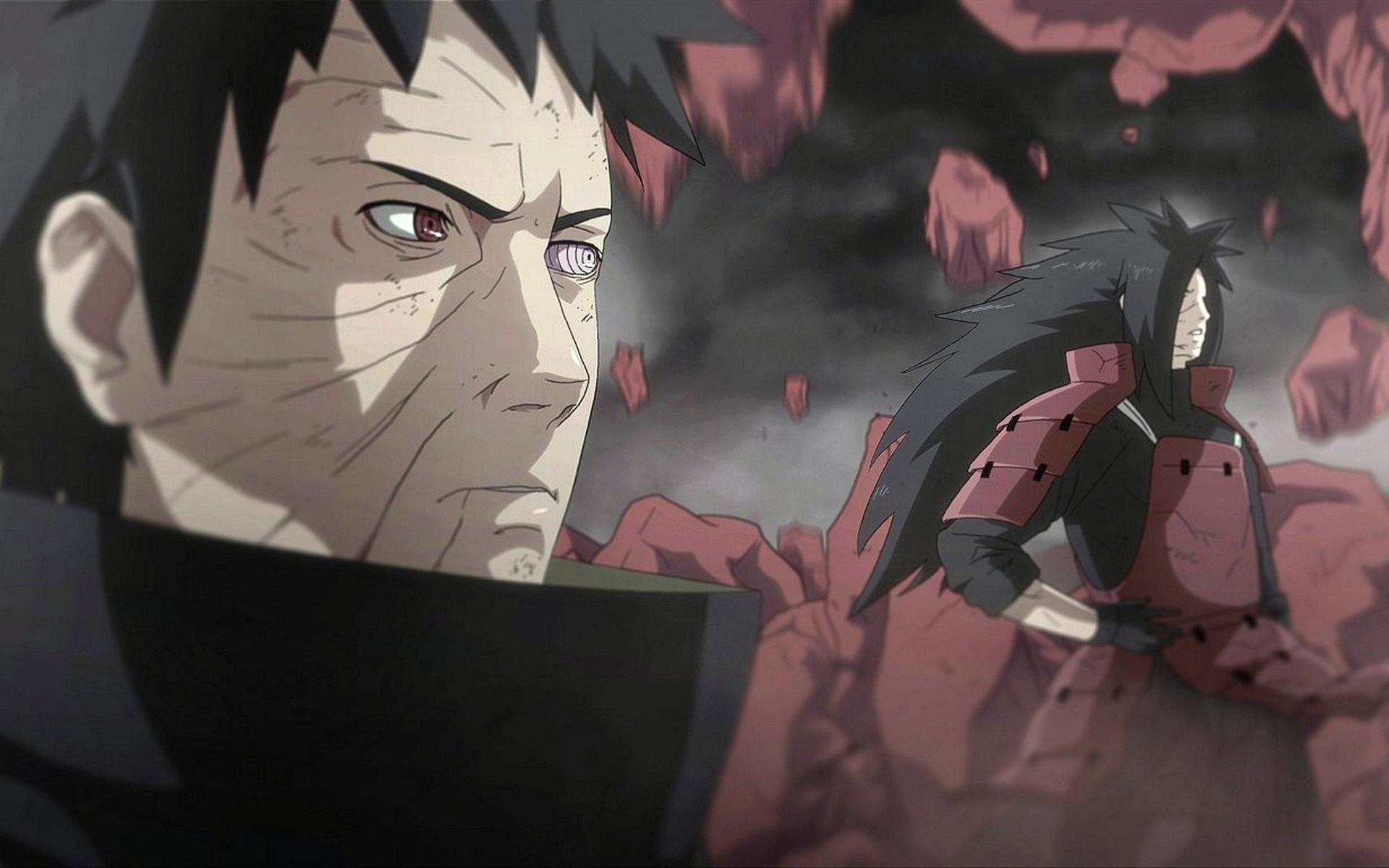 Naruto Shippuuden, Uchiha Madara, Uchiha Obito Wallpapers HD / Desktop and  Mobile Backgrounds