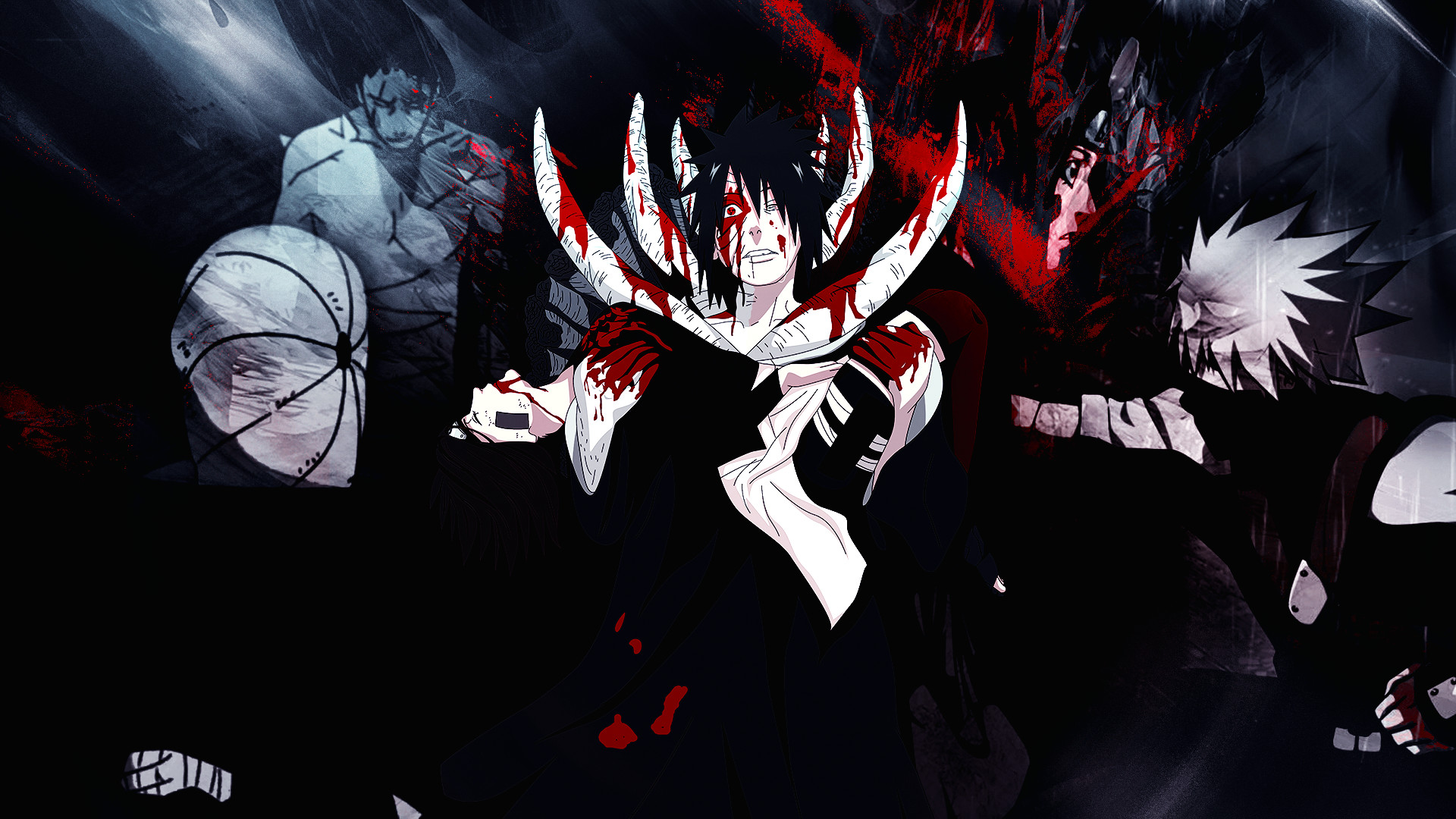 Obito y Rin Wallpaper by Gramcyyy Obito y Rin Wallpaper by Gramcyyy