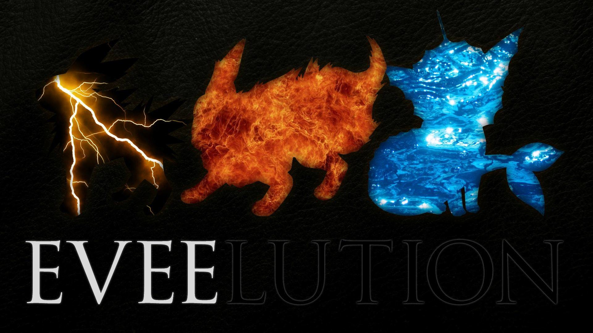 Eevee evolution chain – Pokemon Wallpaper