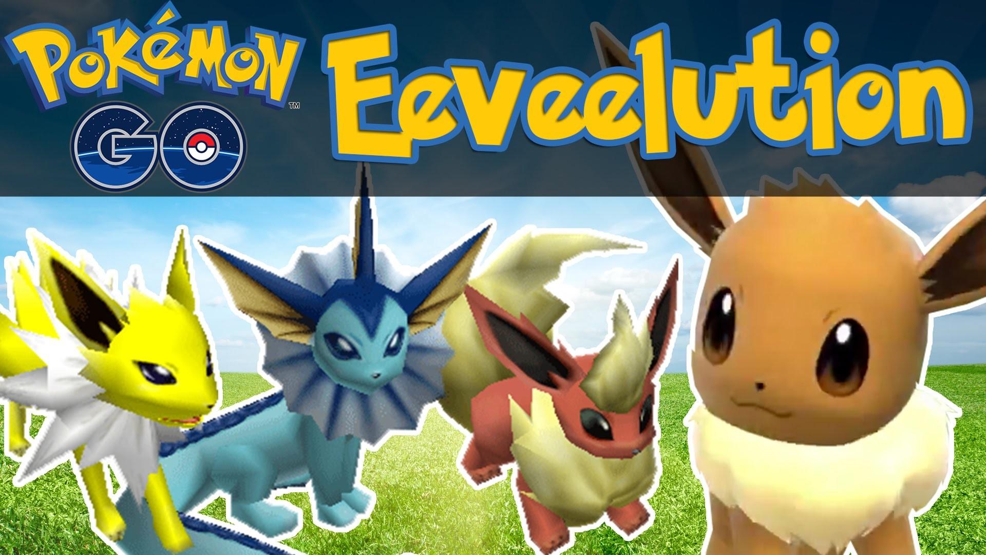 Pokemon GO – How To Evolve Eevee! [Pokemon GO iOS/Android Tips & Tricks] –  YouTube