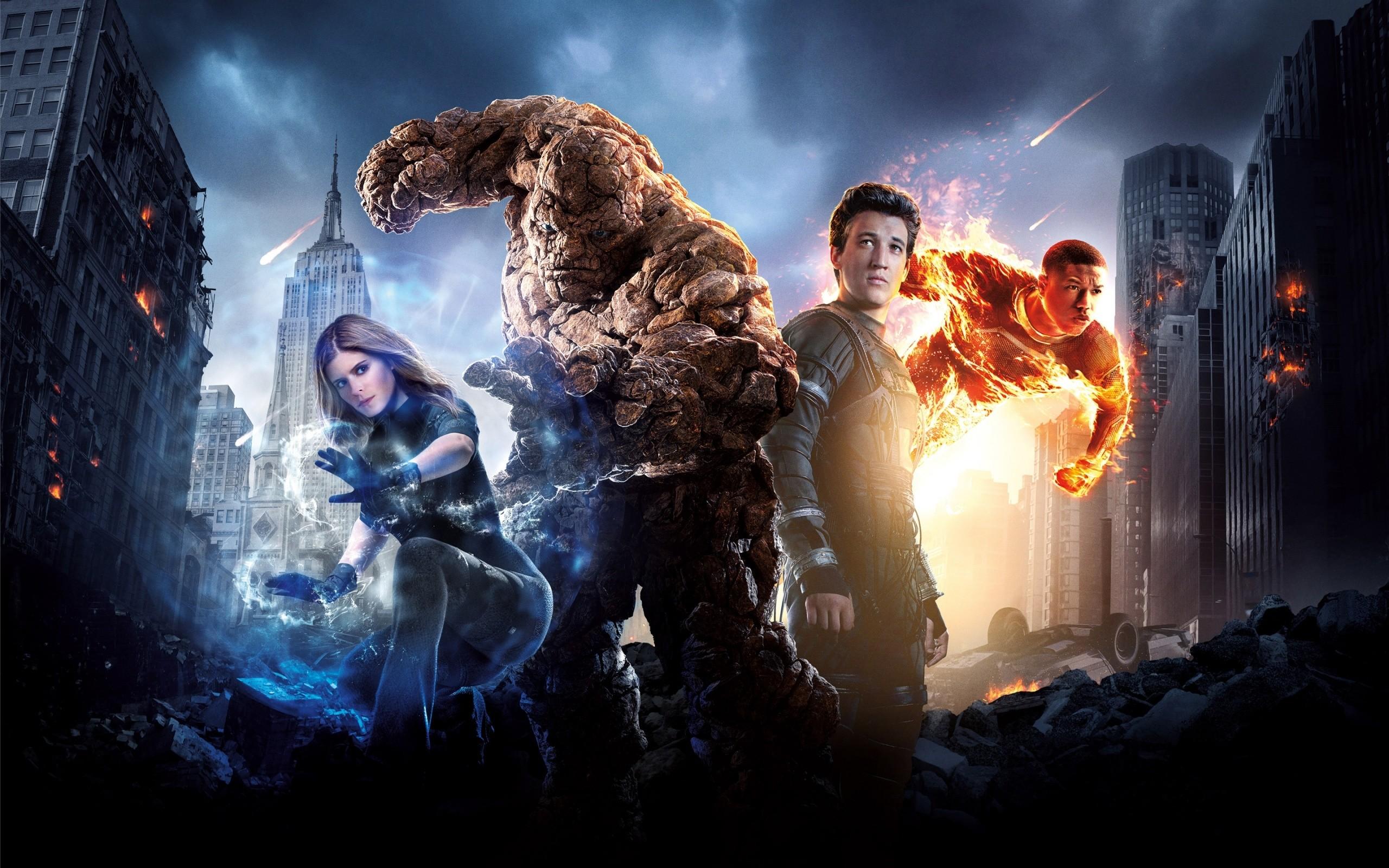 fantastic 4 2015 movie human torch mr fantastic susan storm thing doctor  doom free hd