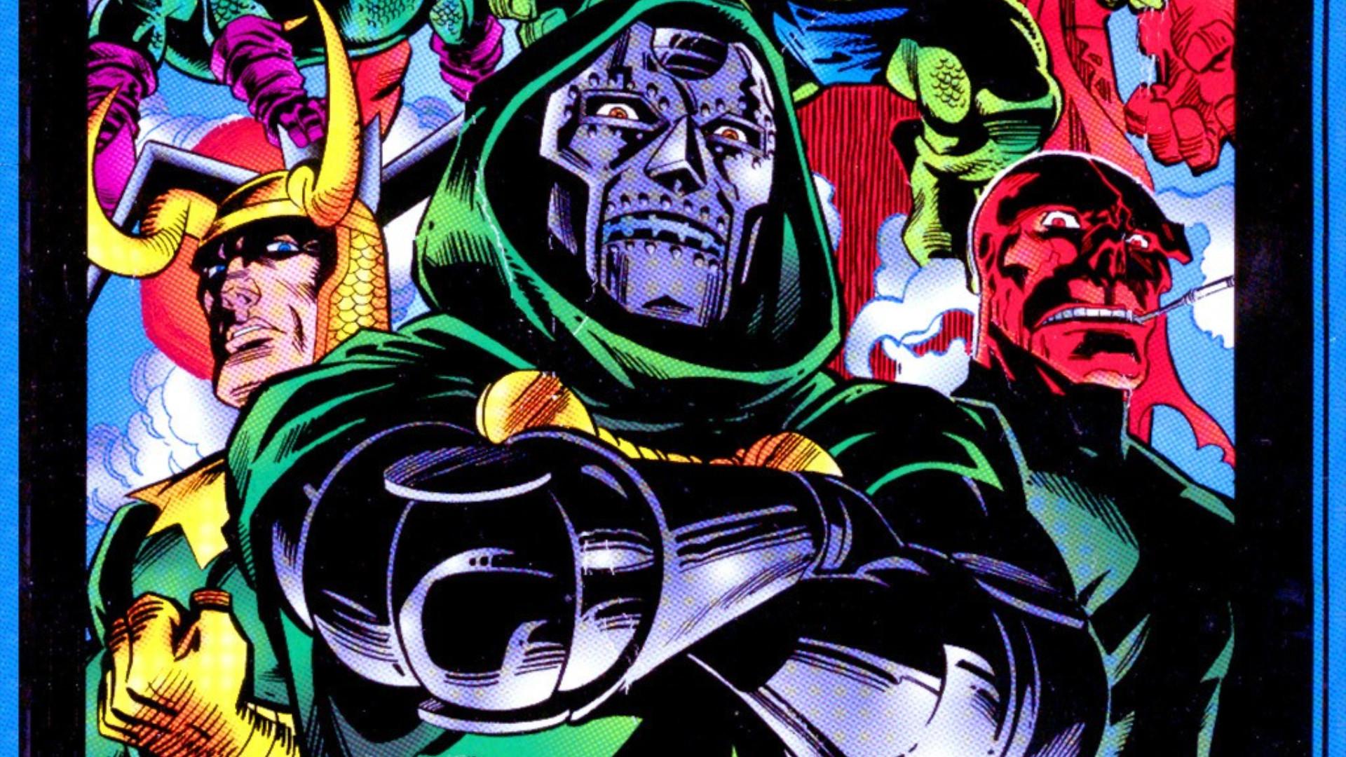 Comics – Bring on the Bad Guys: Origins of Marvel Villains Doctor Doom  Wallpaper