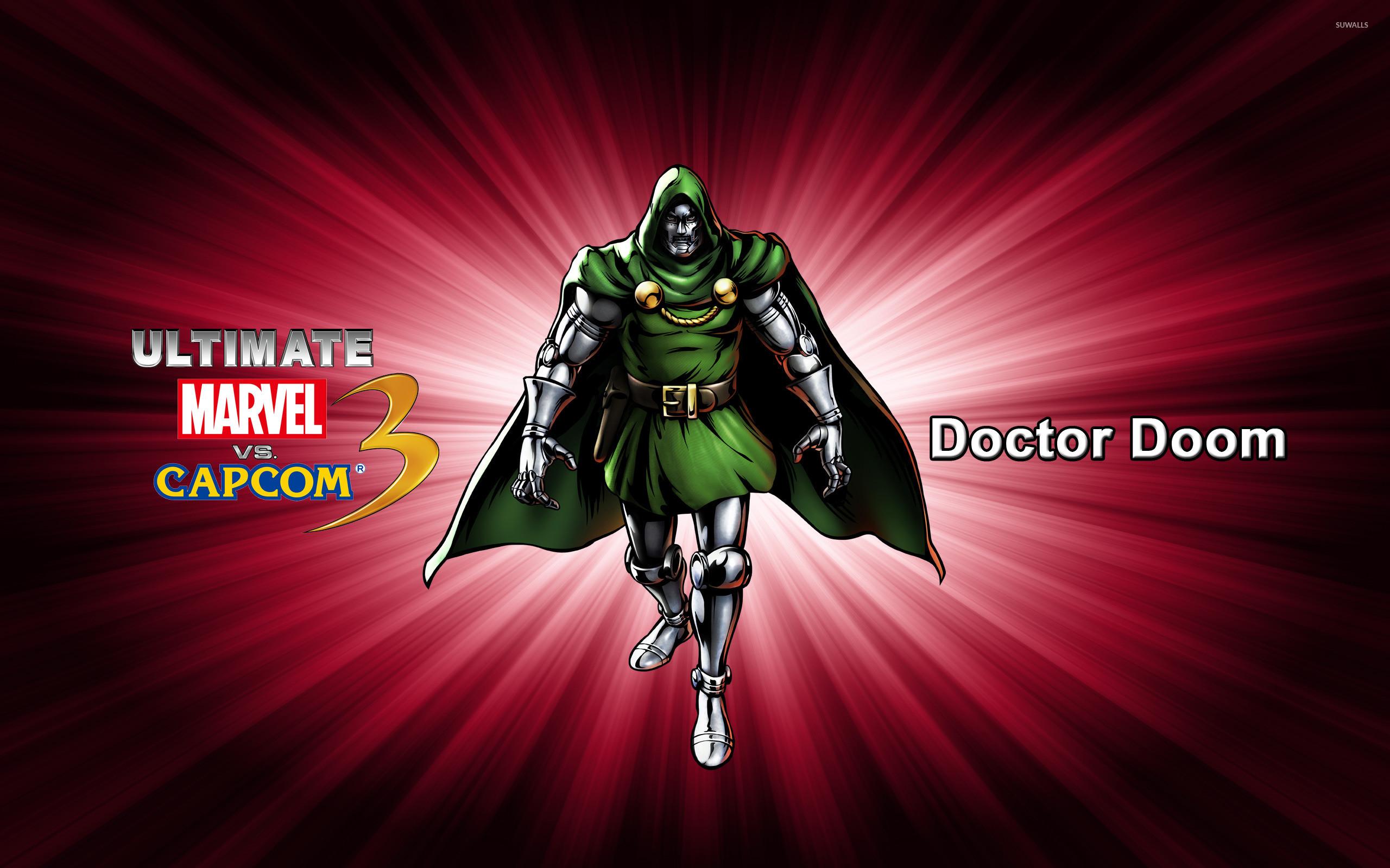 Doctor Doom – Ultimate Marvel vs. Capcom 3 wallpaper