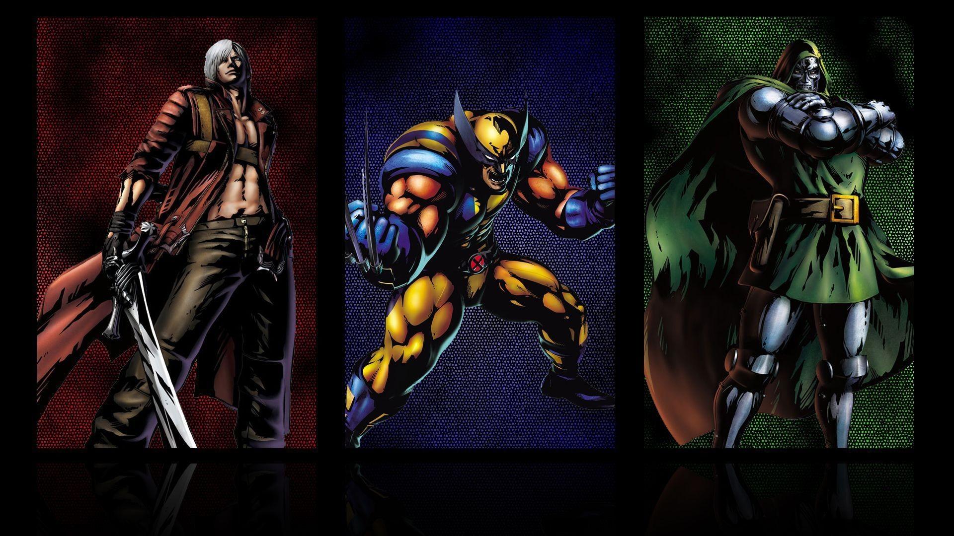 Comics Wolverine Devil May Cry Marvel Vs Capcom Dr Doom Fresh New .
