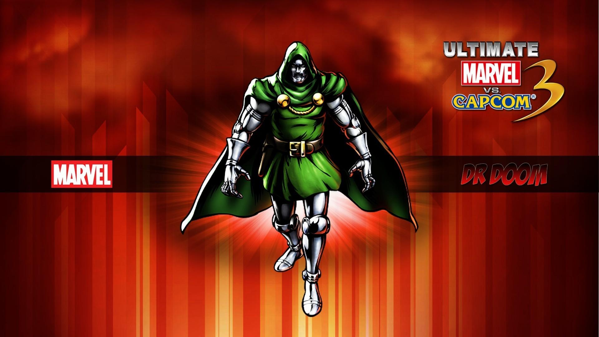 Capcom dr doom marvel vs 3 comics wallpaper