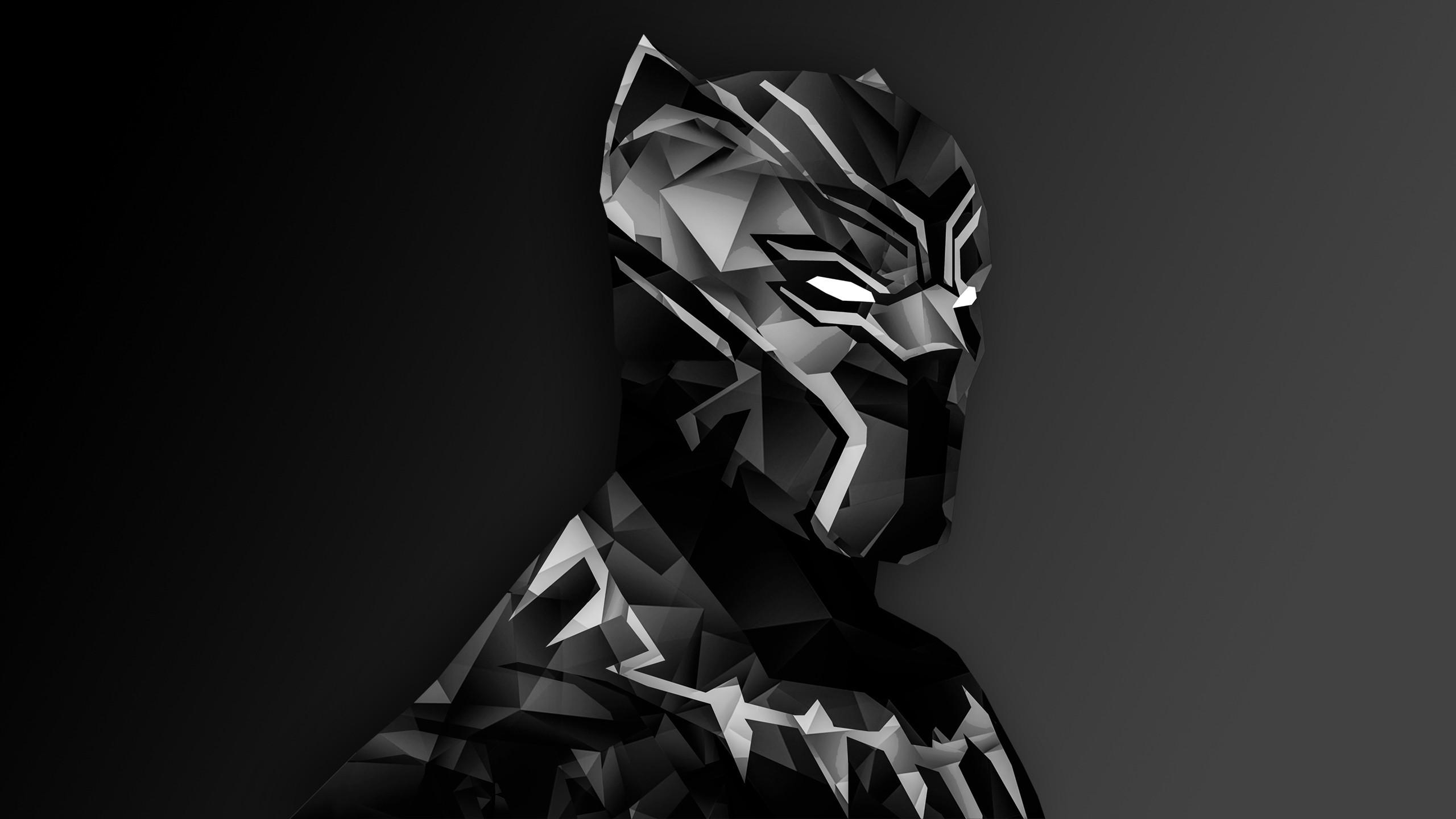 Black Panther Digital Art Wallpaper   Superheroes HD Wallpapers