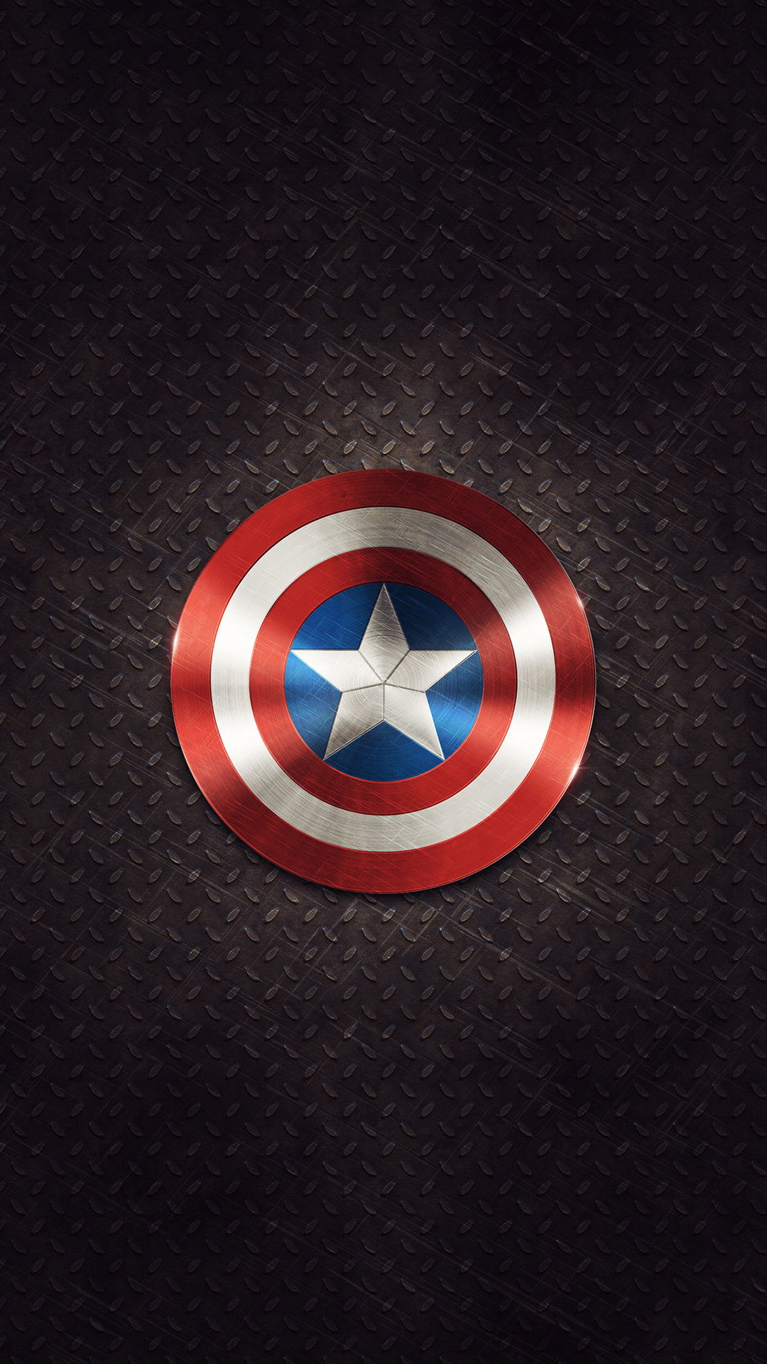 Captain America Shield iPhone 6 Plus HD Wallpaper / iPod Wallpaper