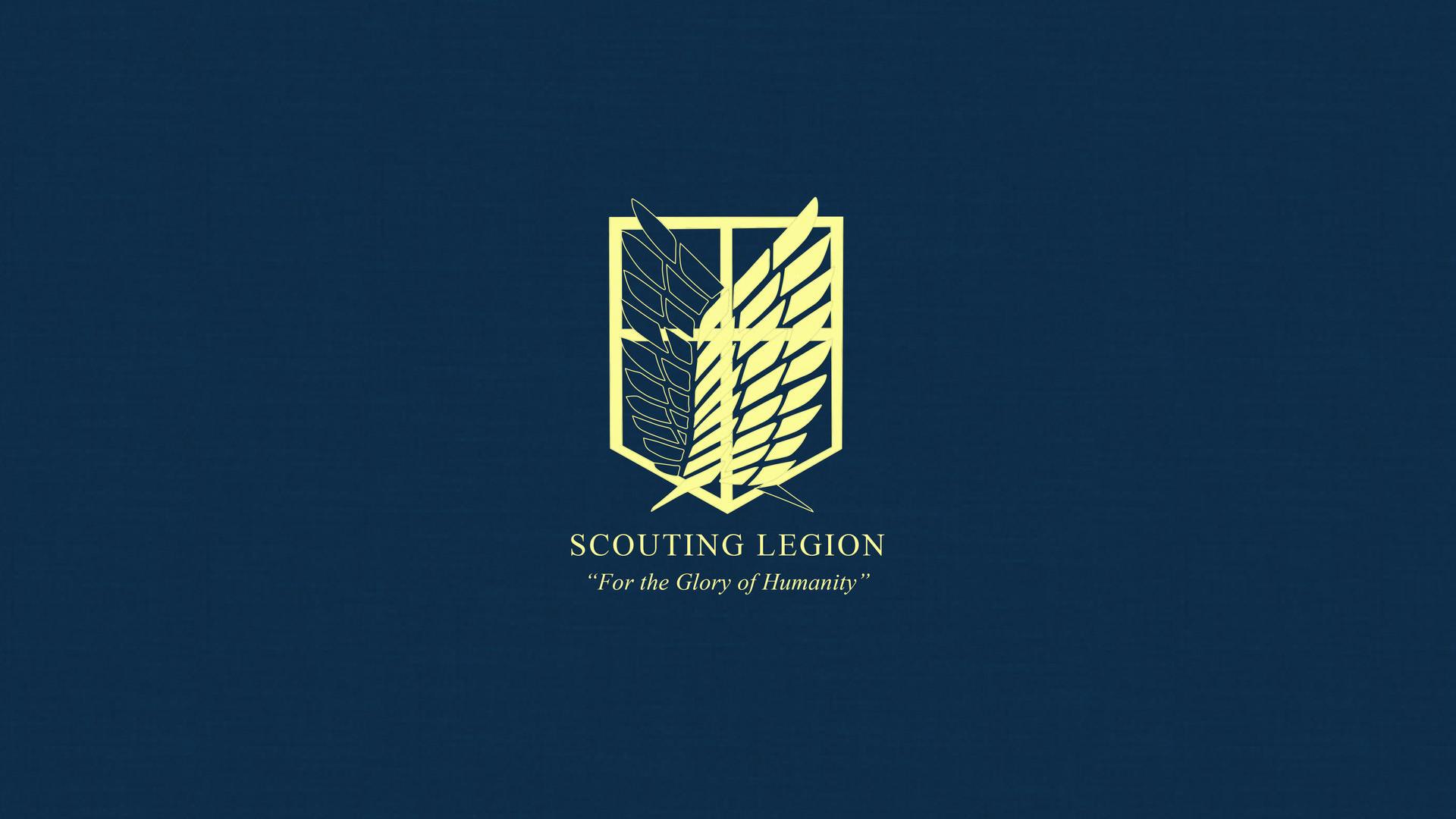 on titan scouting legion wallpaper by imxset21 fan art wallpaper .