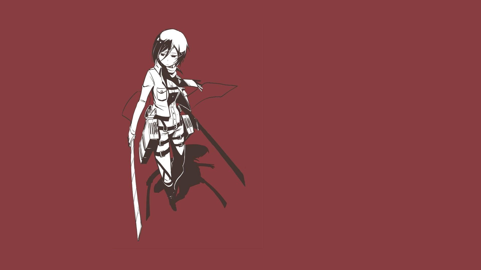 Anime – Attack On Titan Mikasa Ackerman Wallpaper