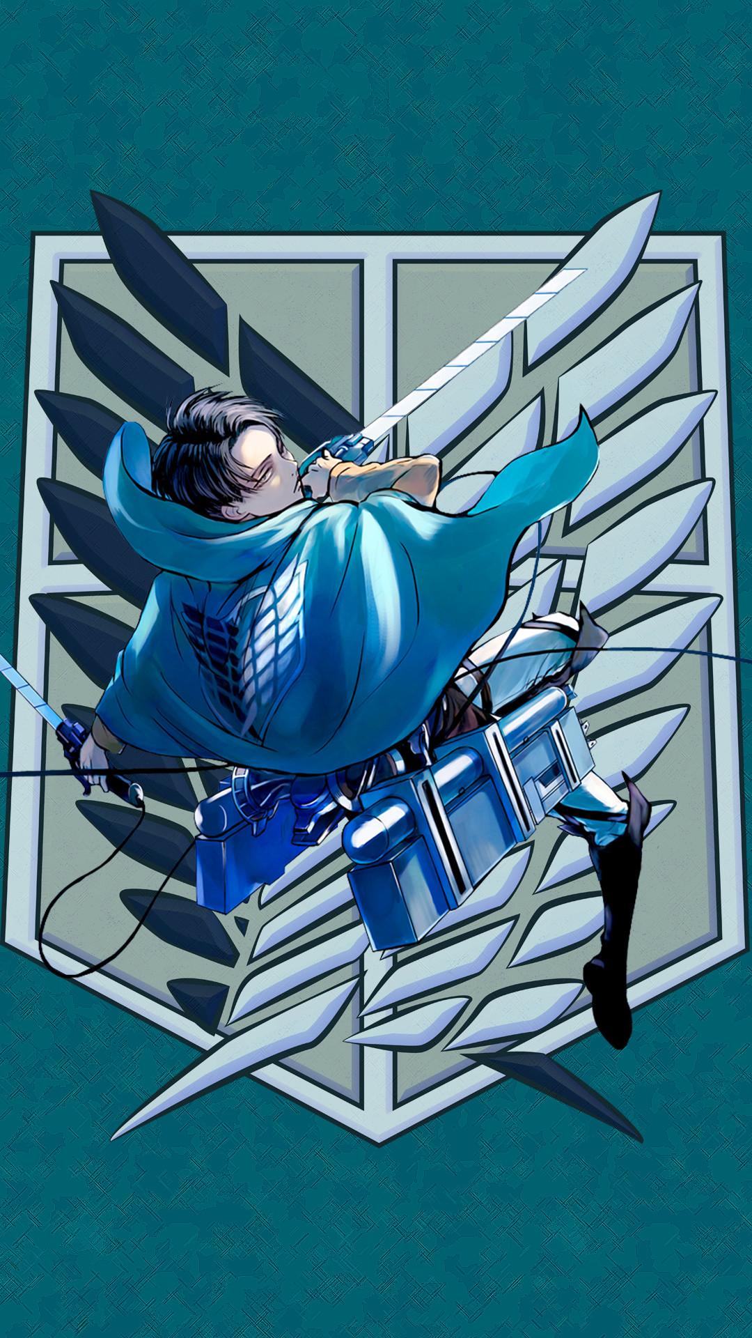 Levi Ackerman – Attack on Titan – Shingeki no Kyojin- CLS