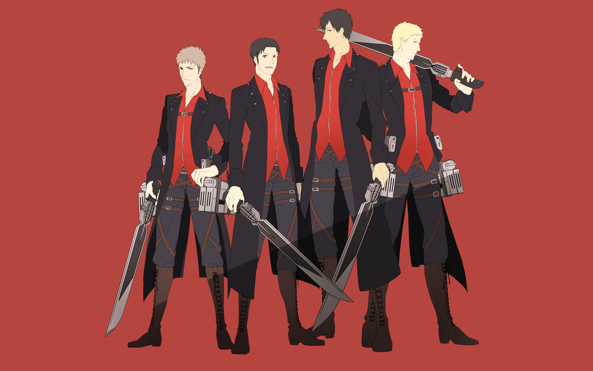 Anime – Attack On Titan Bertholdt Fubar Jean Kirstein Marco Bott Reiner  Braun Wallpaper
