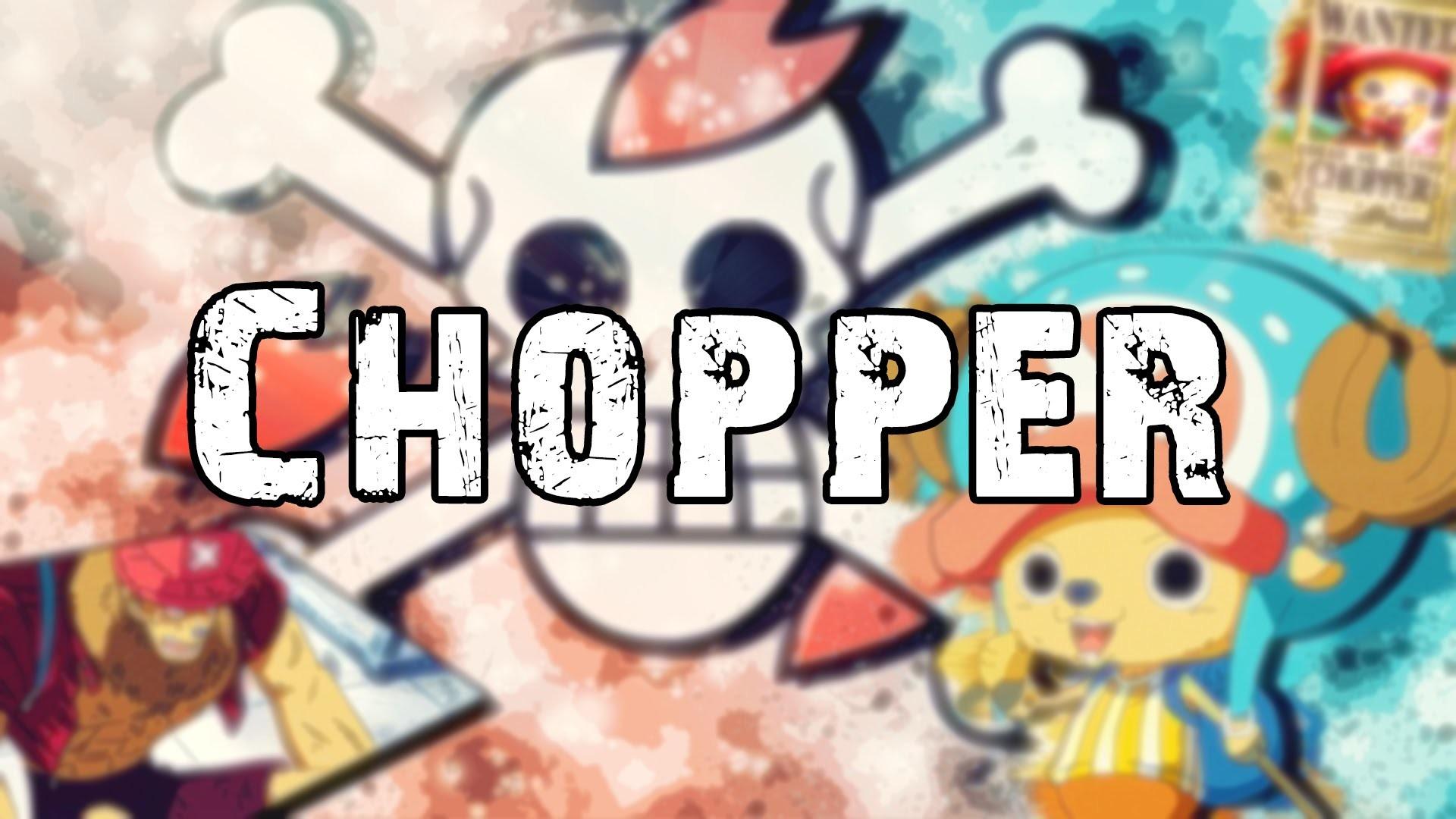 Wallpaper | Chopper | Photoshop | Speed Art | One Piece