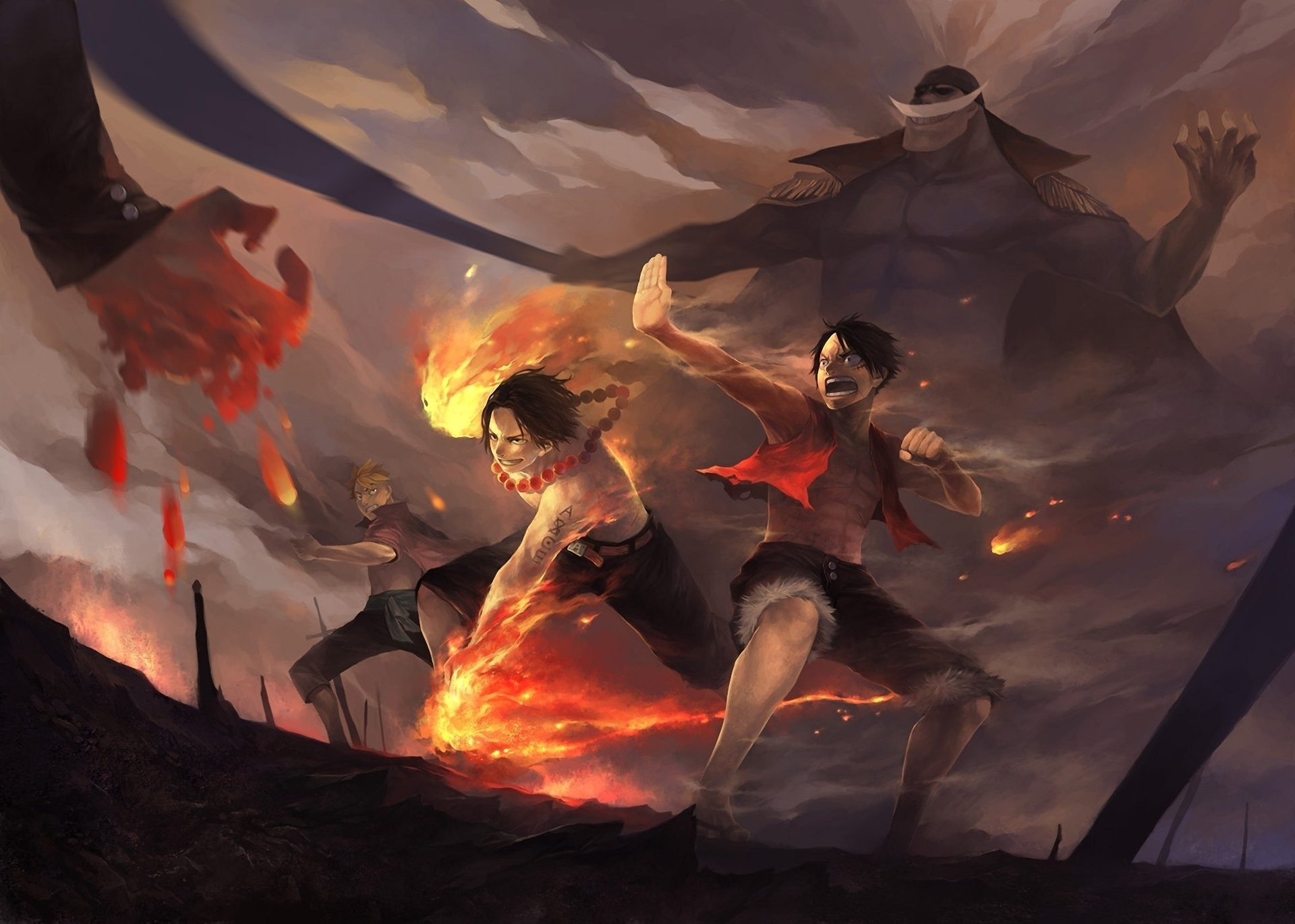 One Piece Santoryu Zoro Roronoa · HD Wallpaper | Hintergrund ID:174965