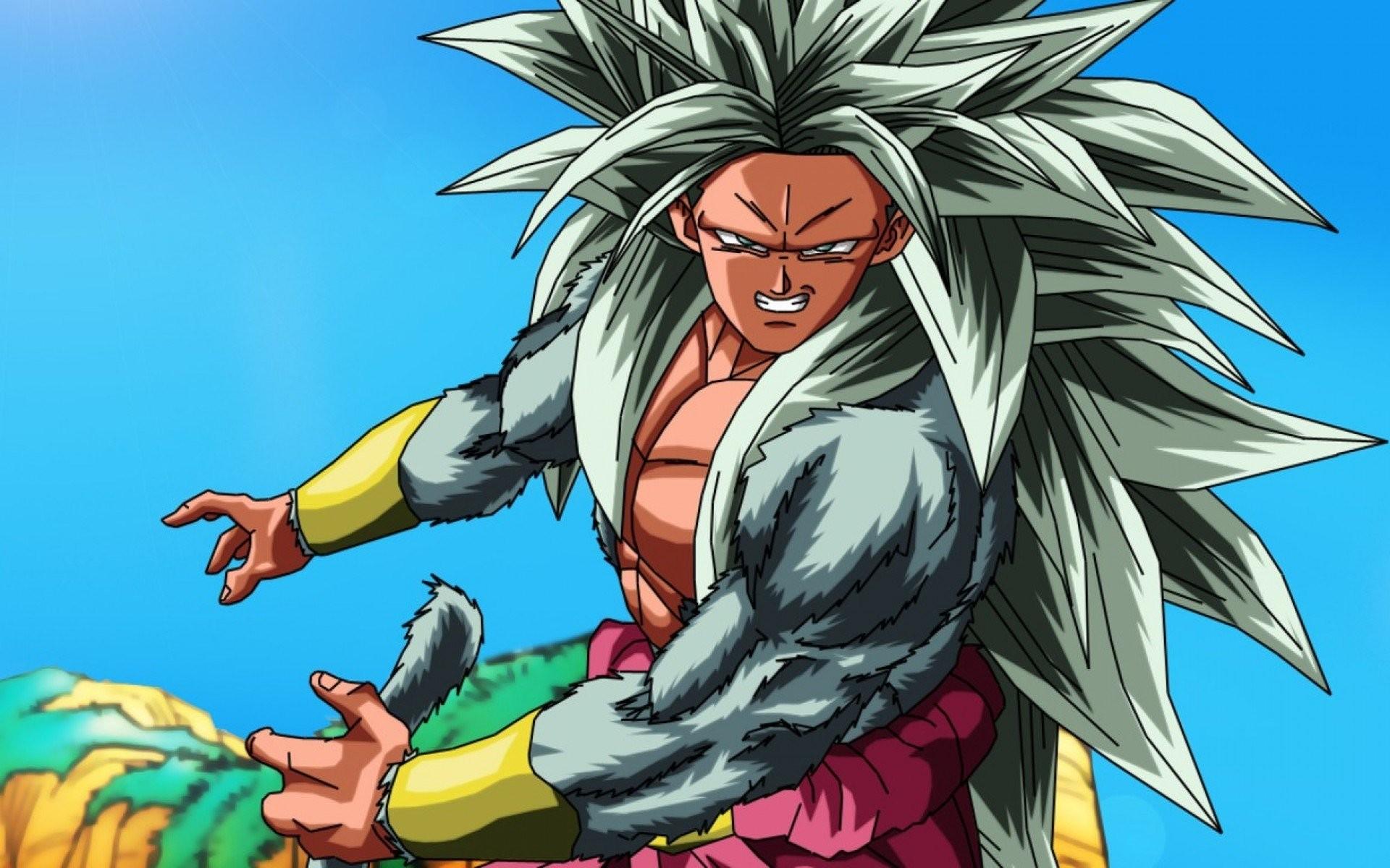 Broly Super Saiyan 5