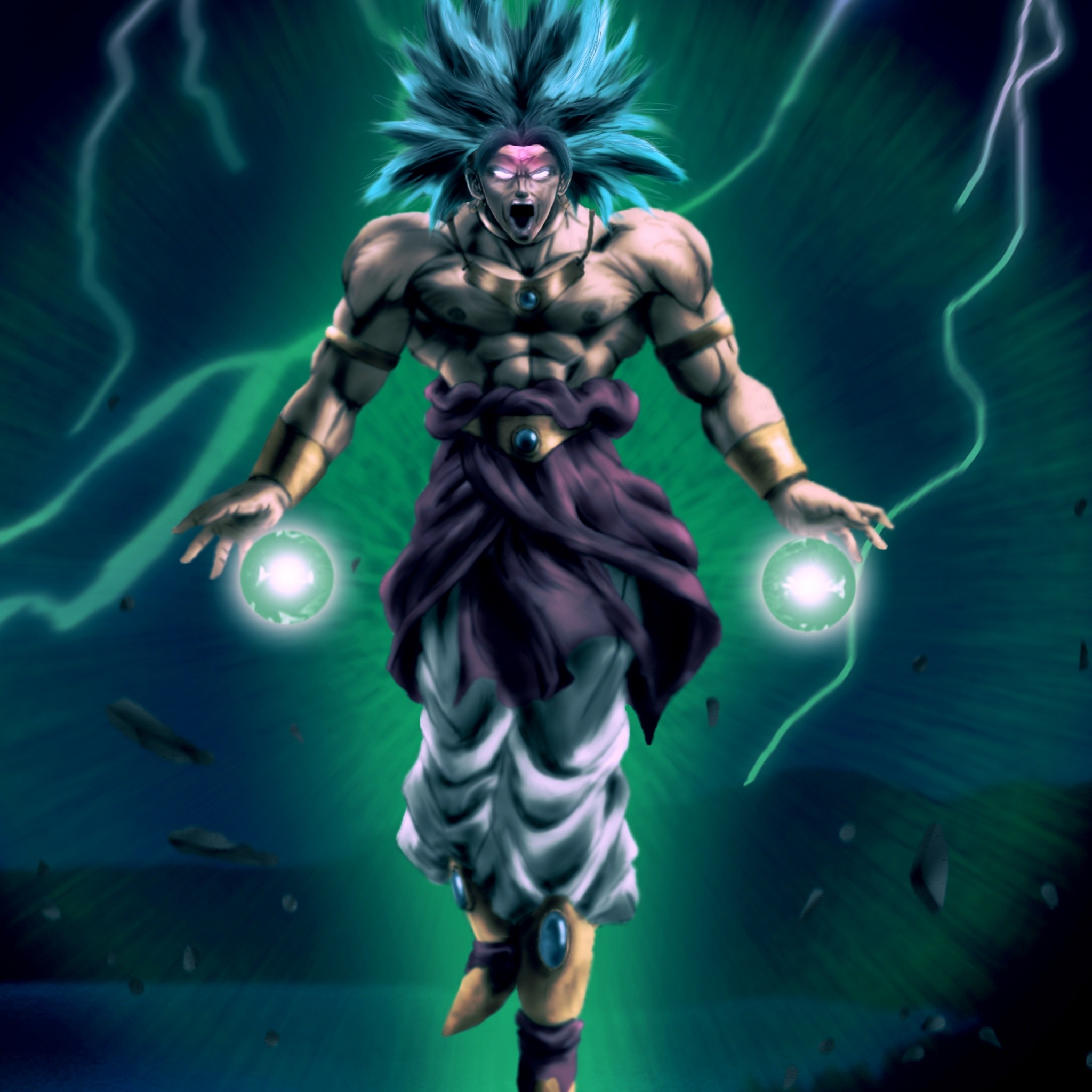 Legendary Super Saiyan – Tap to see more awesomely cool Dragon Ball Z  wallpaper! –