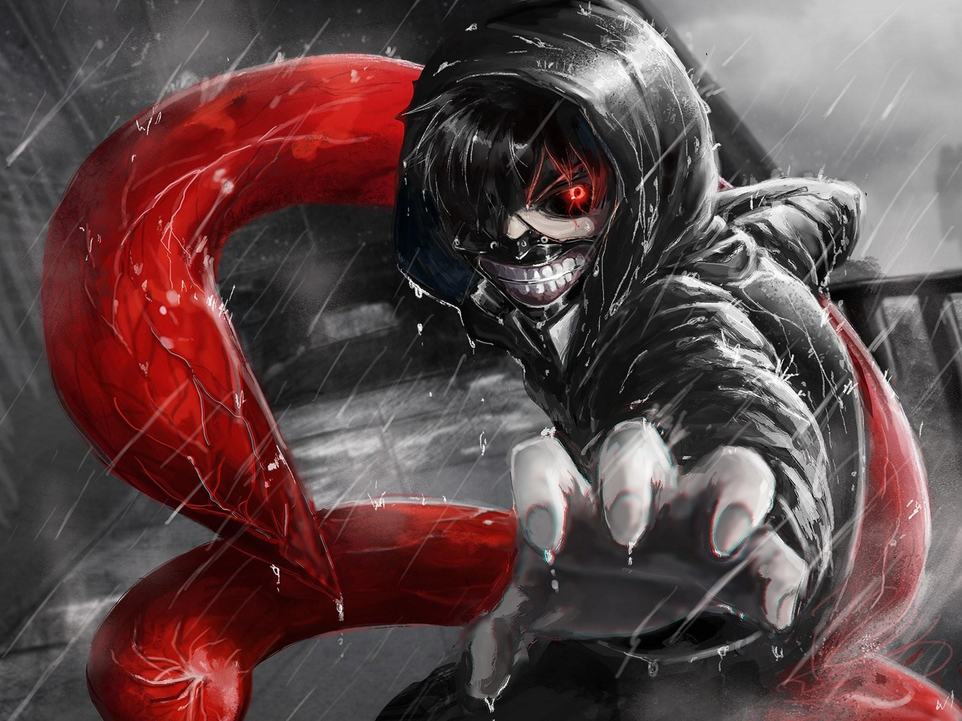 Anime Ken Kaneki Maske Tokyo Ghoul · HD Wallpaper   Hintergrund ID:596848