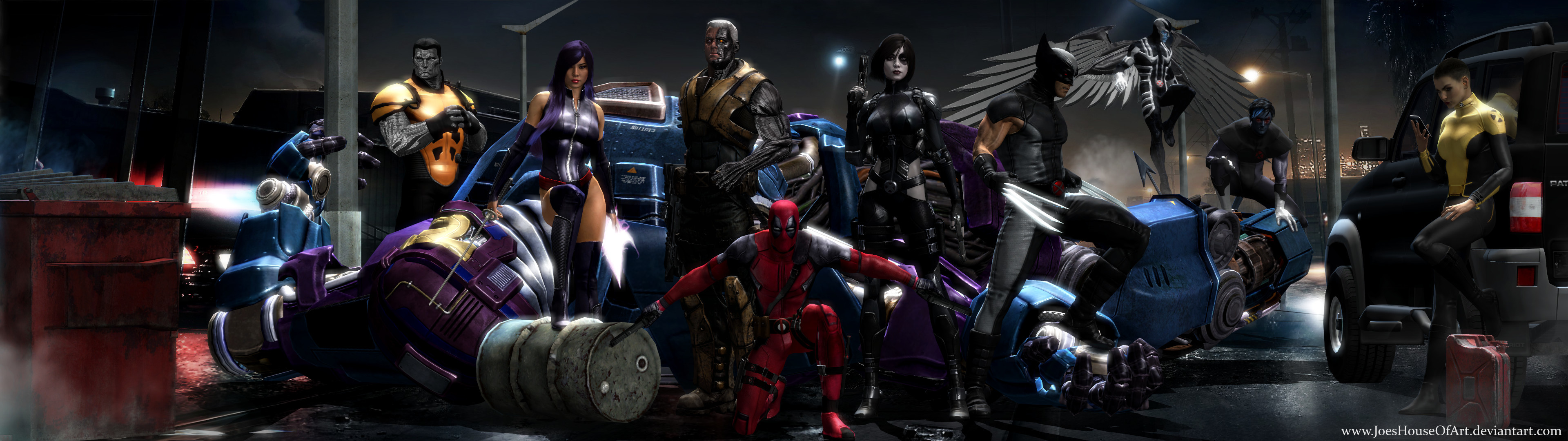 X-Force Movie Dual Screen Wallpaper by ShaunsArtHouse on .