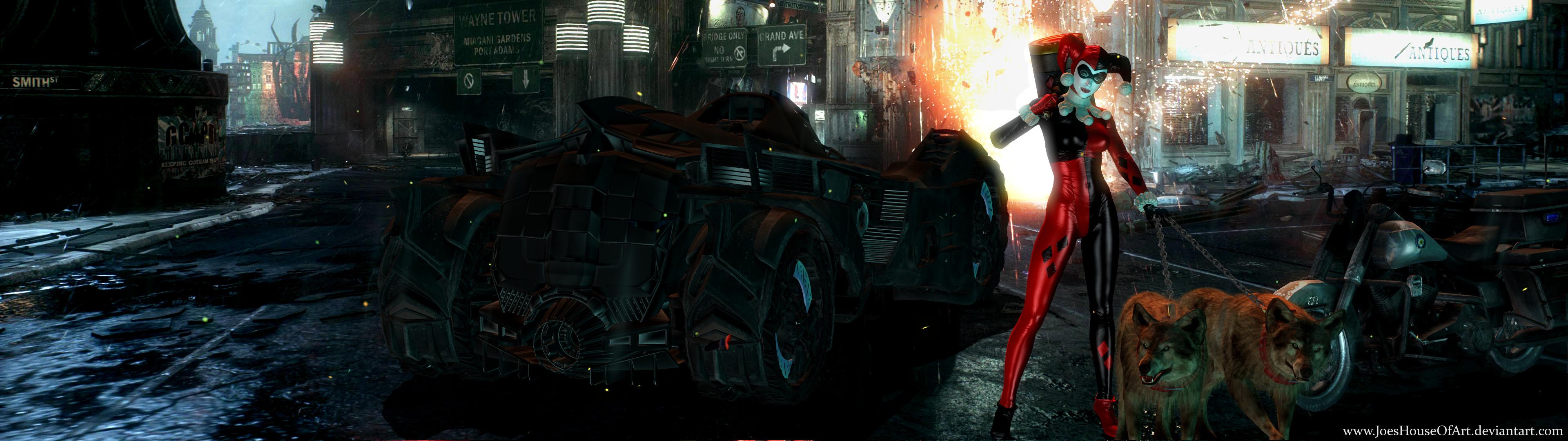 … Arkham – The Batman Villains Dual Screen Wallpaper by ShaunsArtHouse