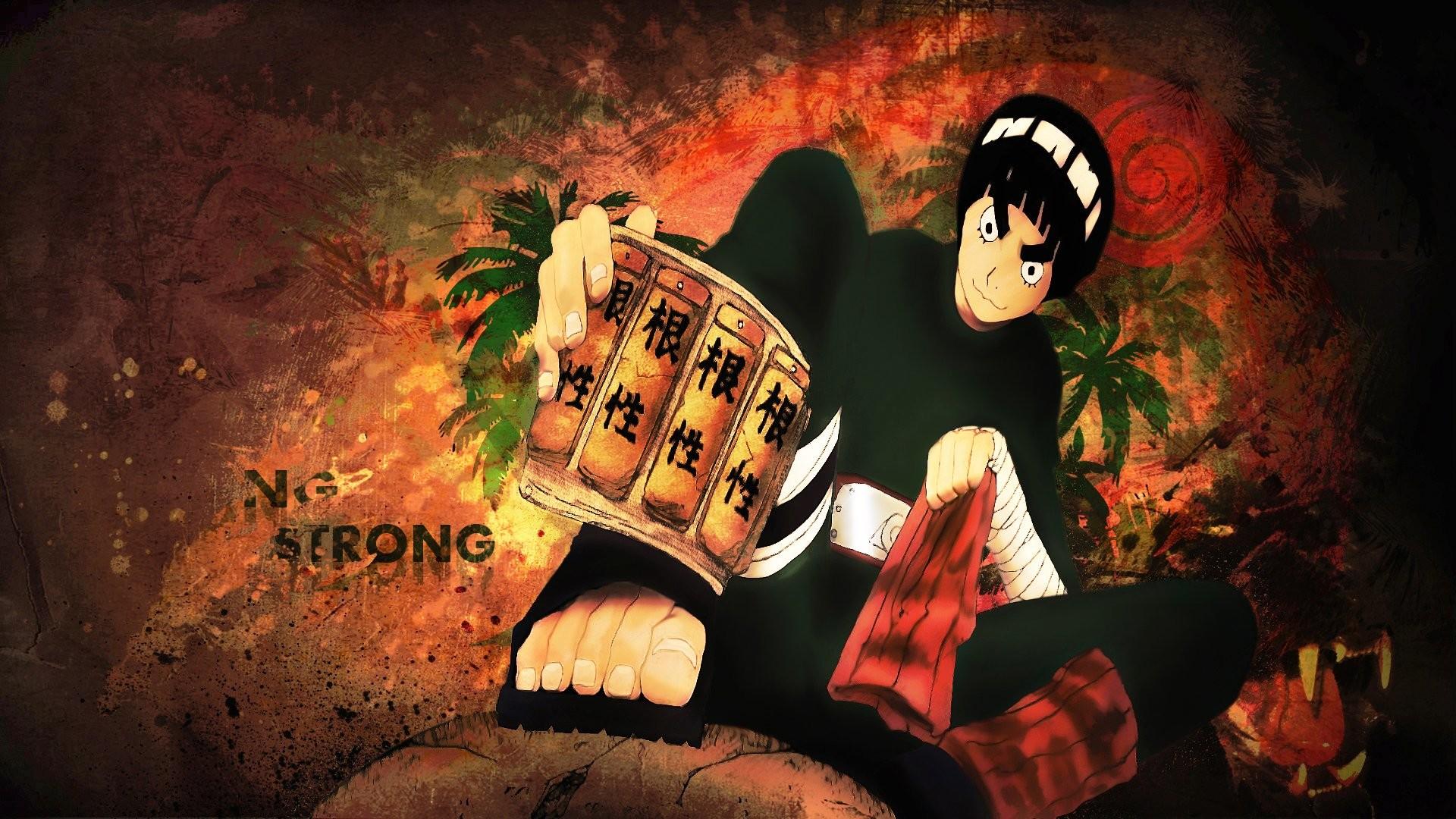 Anime – Naruto Rock Lee Wallpaper