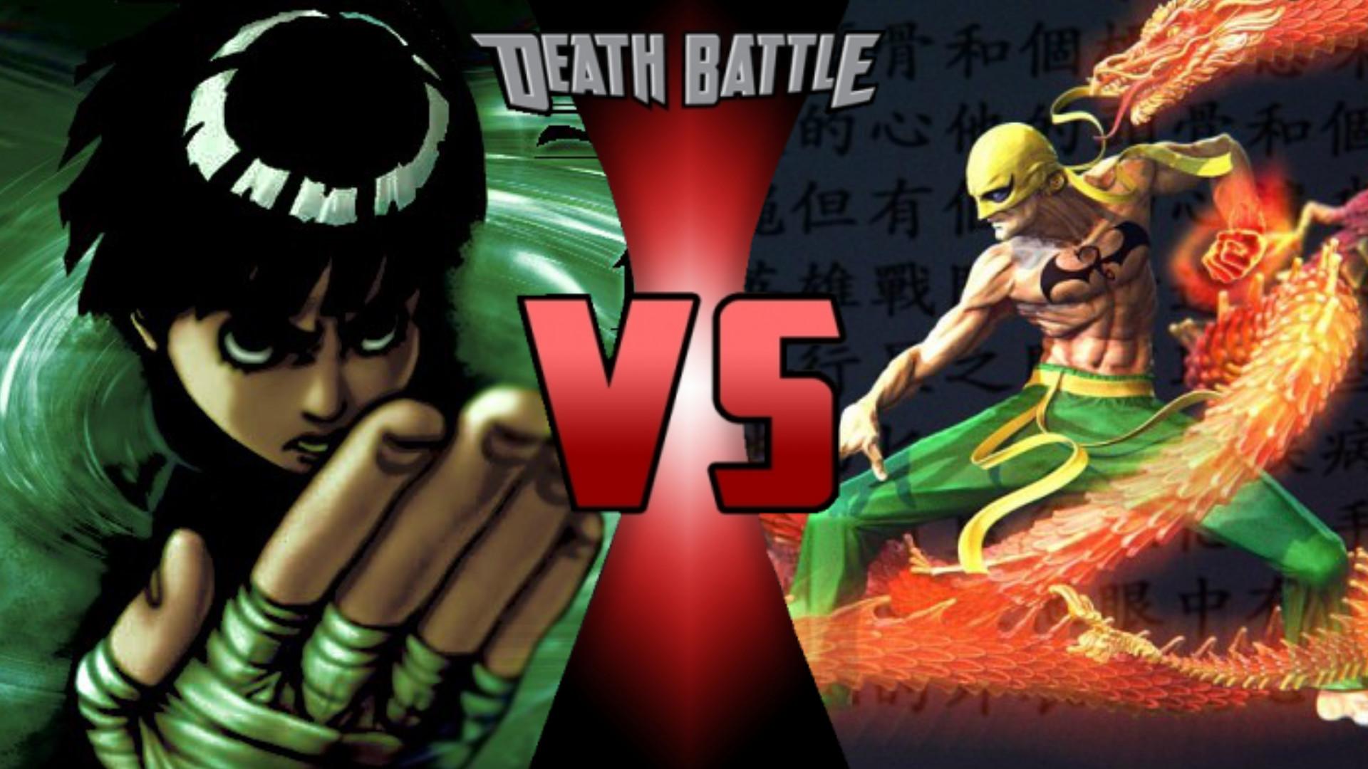 Iron Fist VS Rock Lee | Death Battle Fanon Wiki | FANDOM powered by Wikia