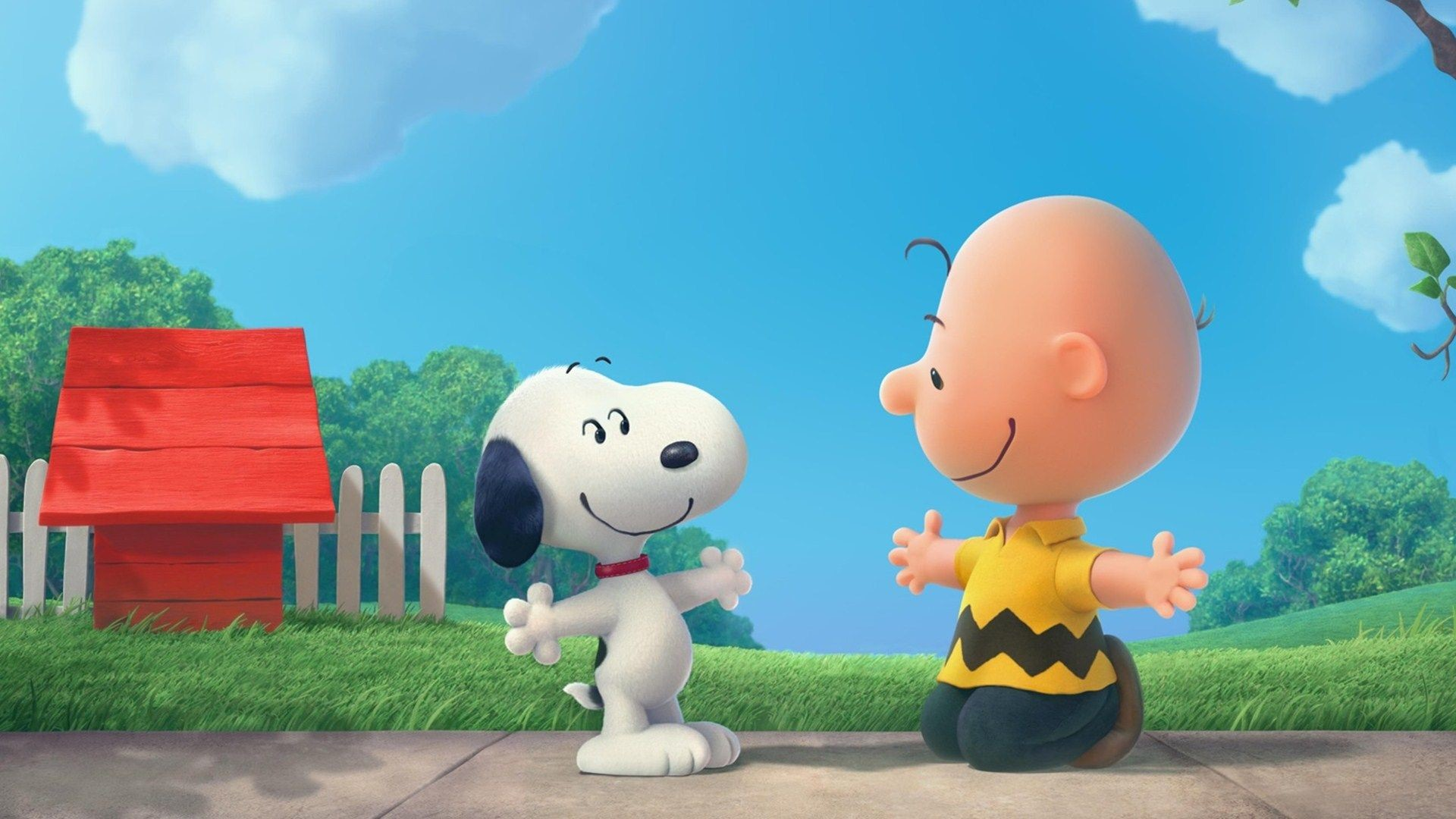 The Peanuts Movie Snoopy And Charlie Brown Wallpaper .
