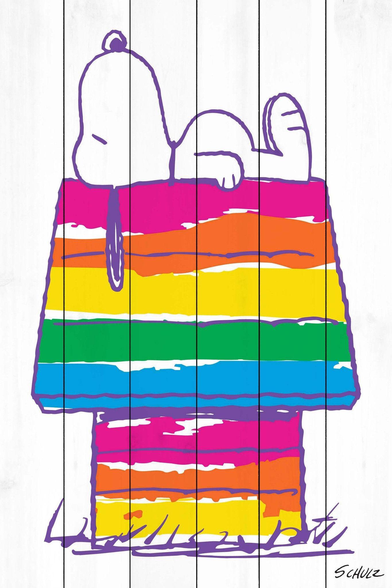 Snoopy's Rainbow House