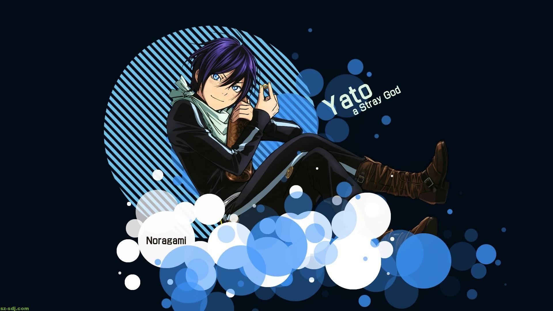Yato background Anime Noragami Aragoto Wallpaper HD 2015