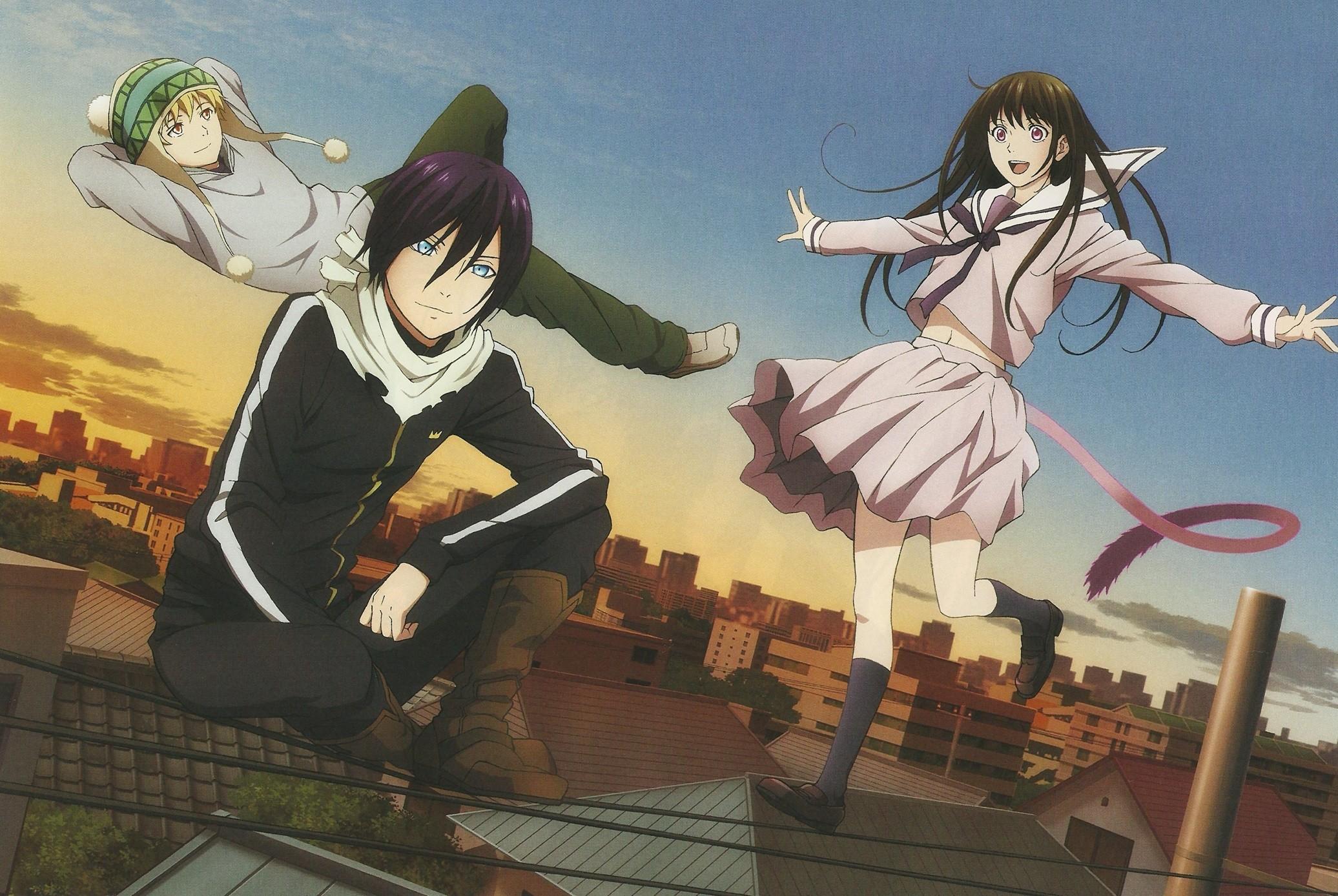 Anime Noragami Yato Yukine Hiyori Iki Wallpaper