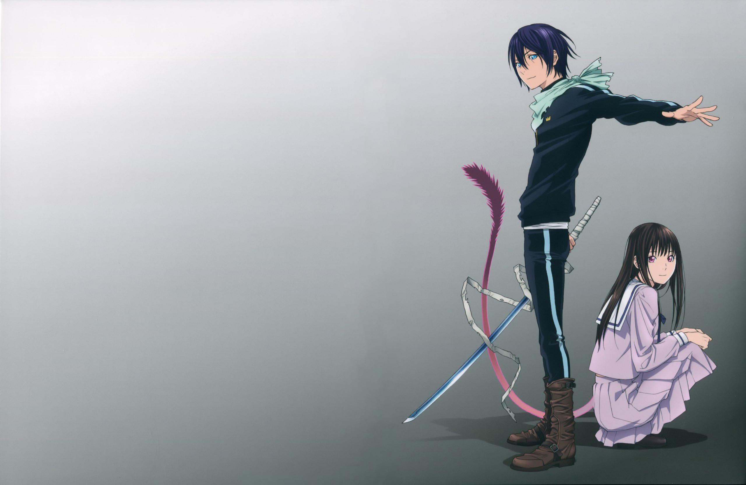 Anime Noragami Yato Hiyori Iki Wallpaper