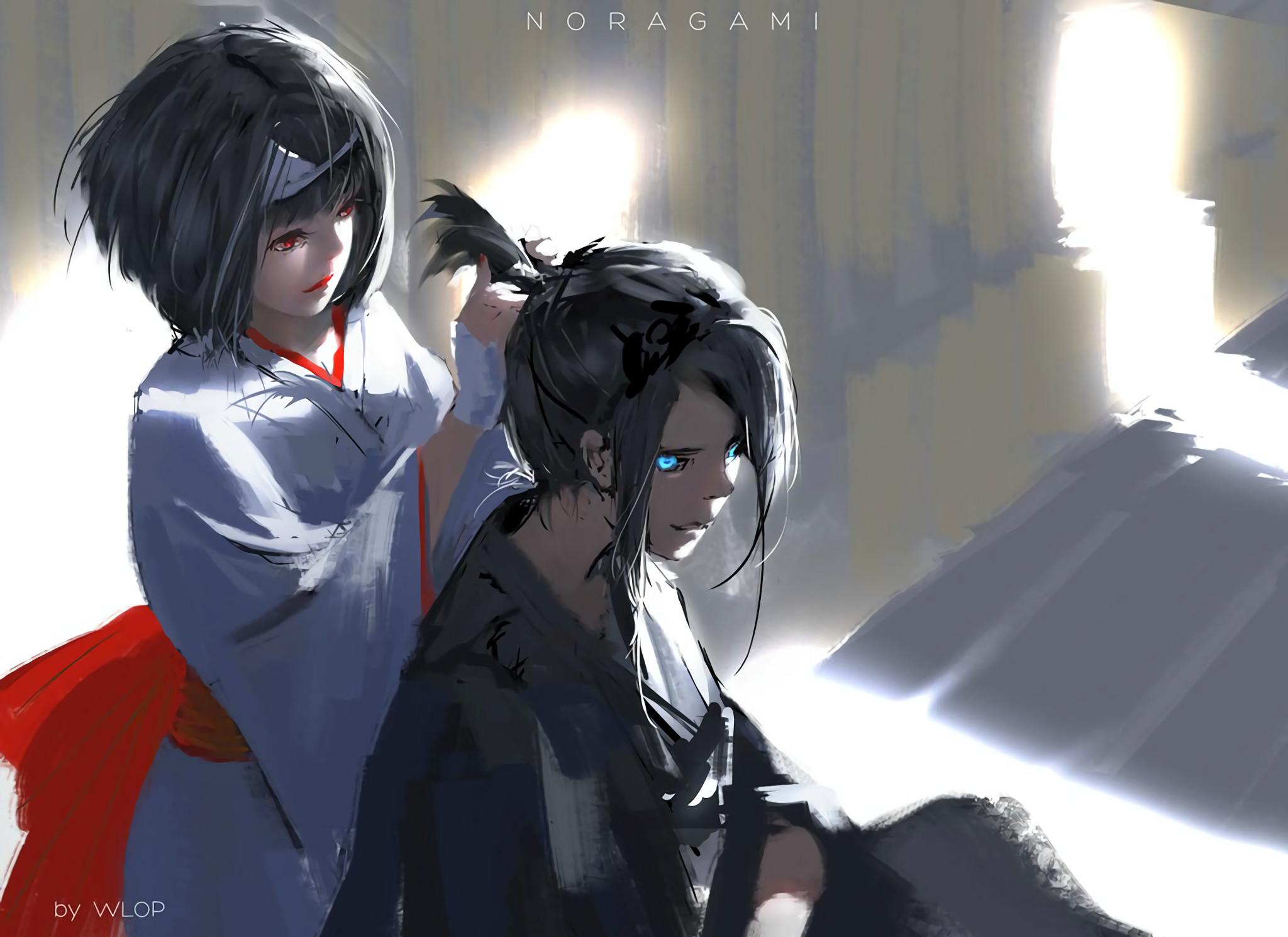 Anime – Noragami Yato (Noragami) Nora (Noragami) Wallpaper