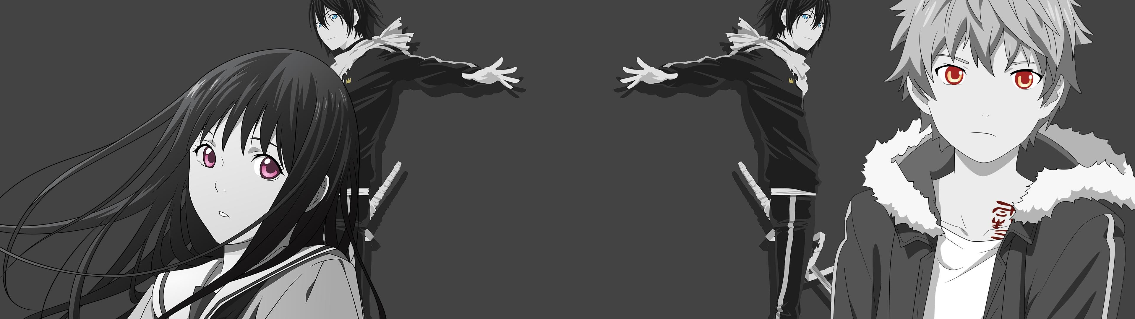 Fan MadeNoragami Dual Screen Wallpaper …