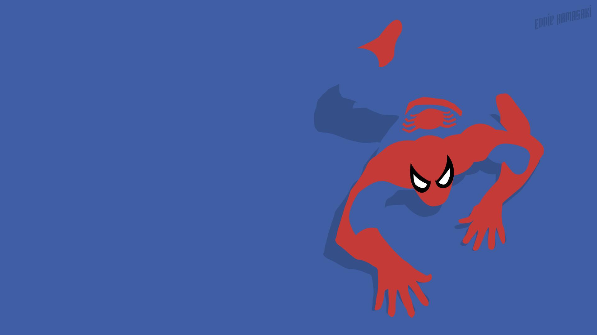 Spiderman minimalistic by eddiehamasaki Spiderman minimalistic by  eddiehamasaki