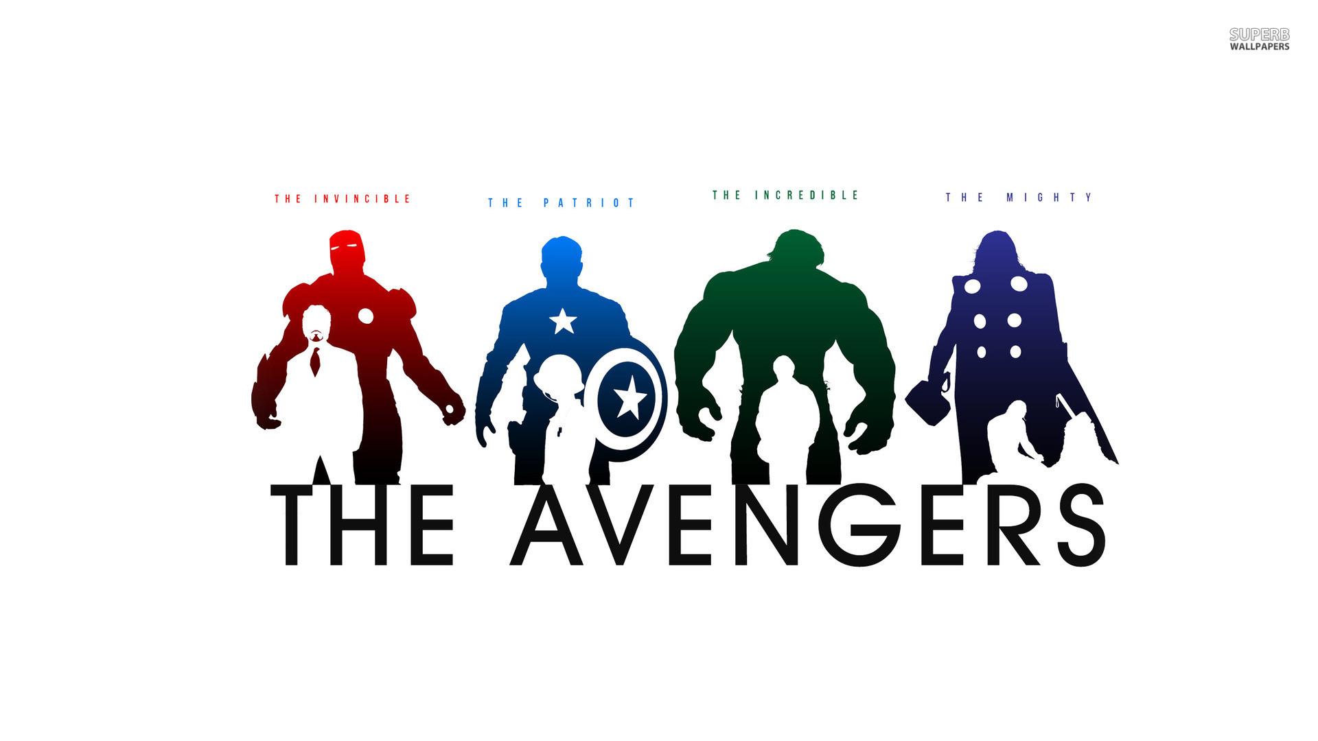 Marvel The Avengers Minimalist Art + Nicknames