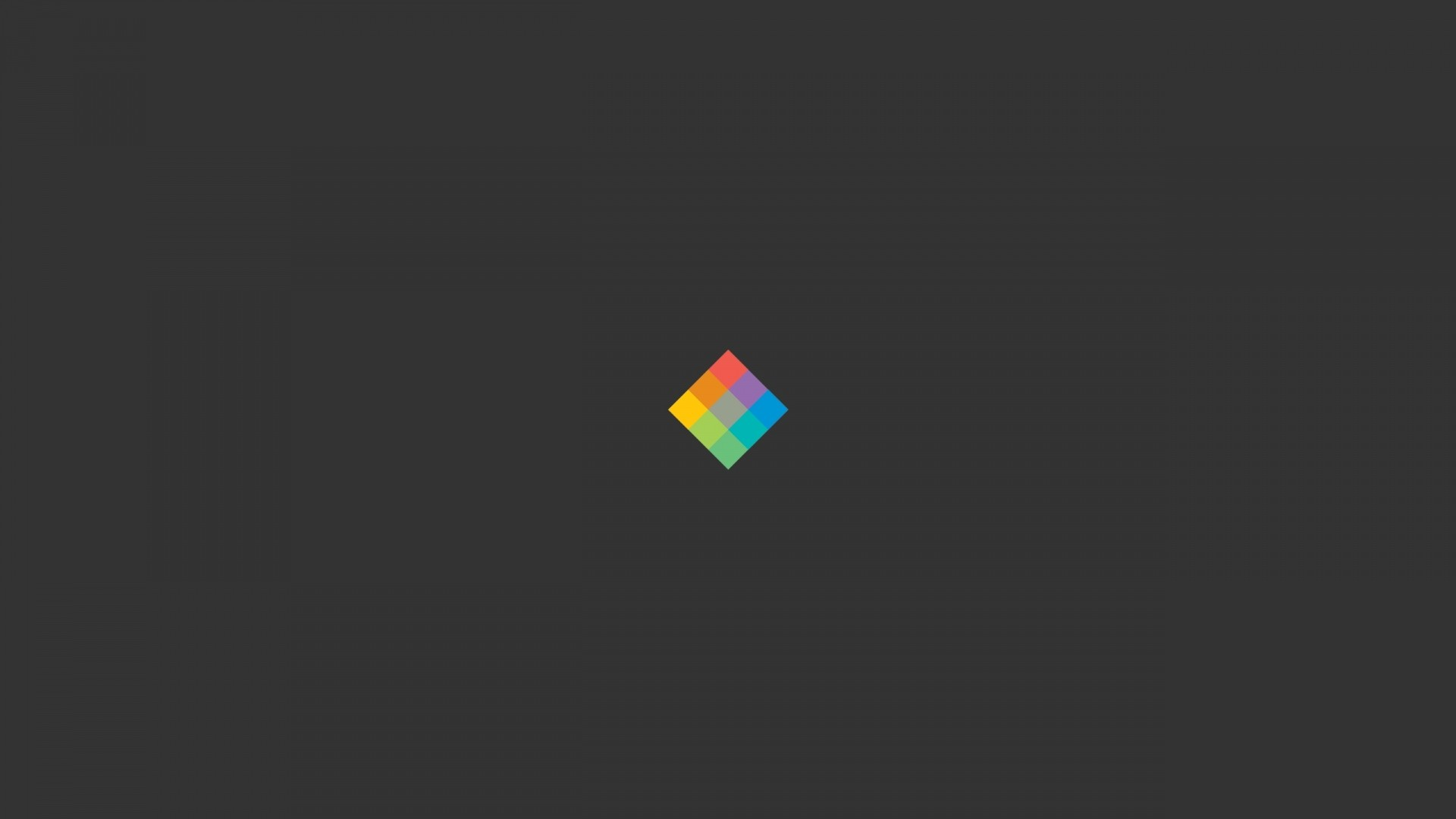 Preview wallpaper minimalist cube, bright, background 1920×1080