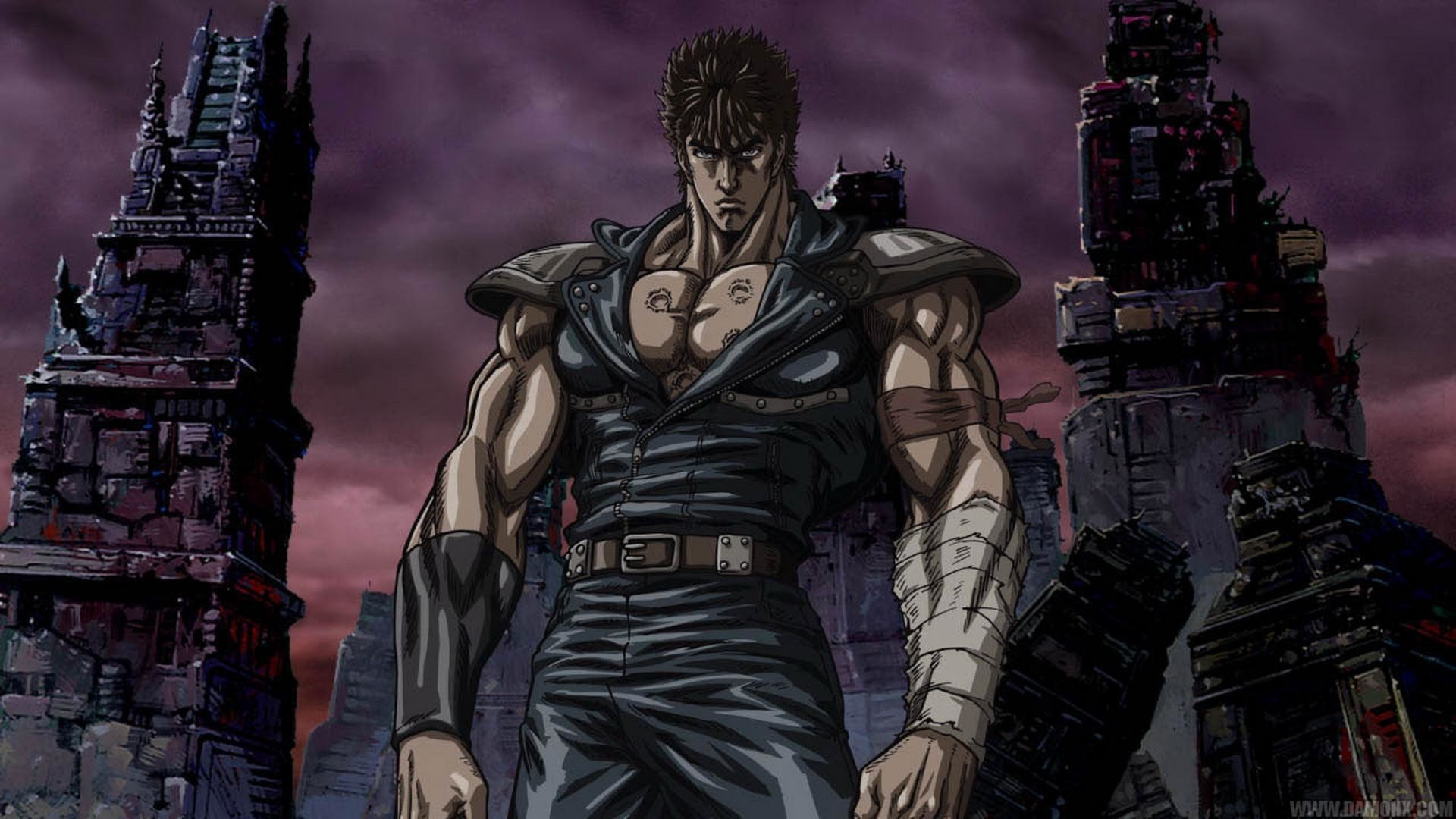 Fist of the North Star Wallpapers Facebook Cover – Cartoon HD .